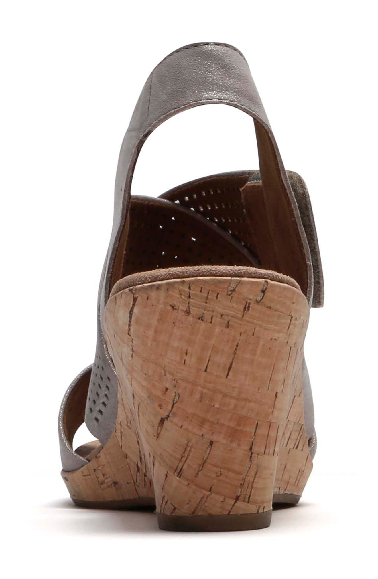 Janna Cross Strap Wedge Sandal,                             Alternate thumbnail 33, color,