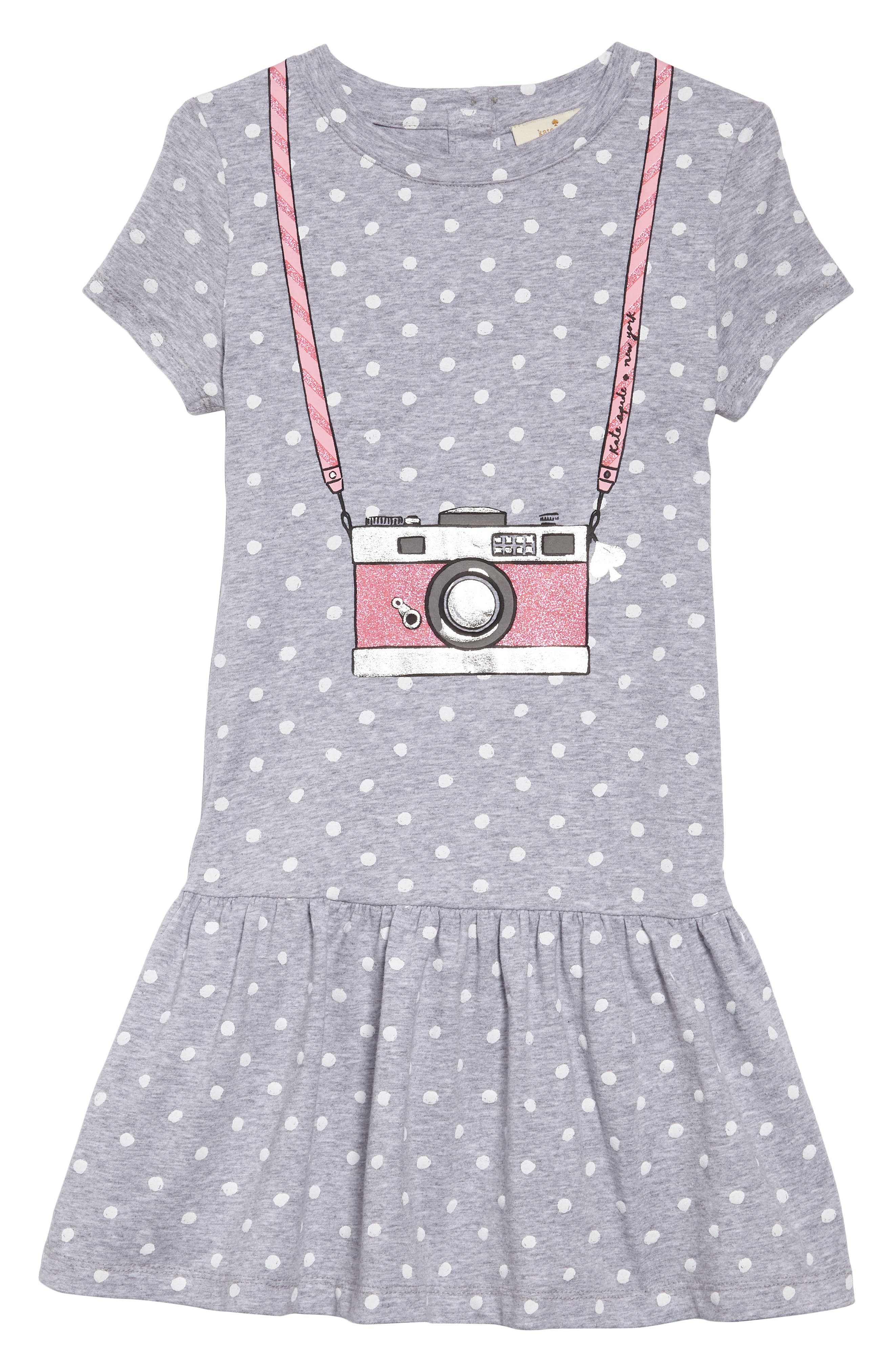 camera polka dot dress,                             Main thumbnail 1, color,                             030