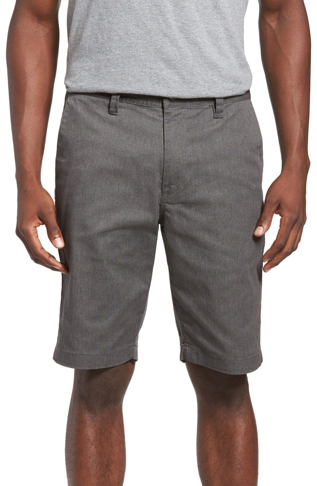 'Modern' Stretch Chino Shorts,                             Main thumbnail 1, color,                             030