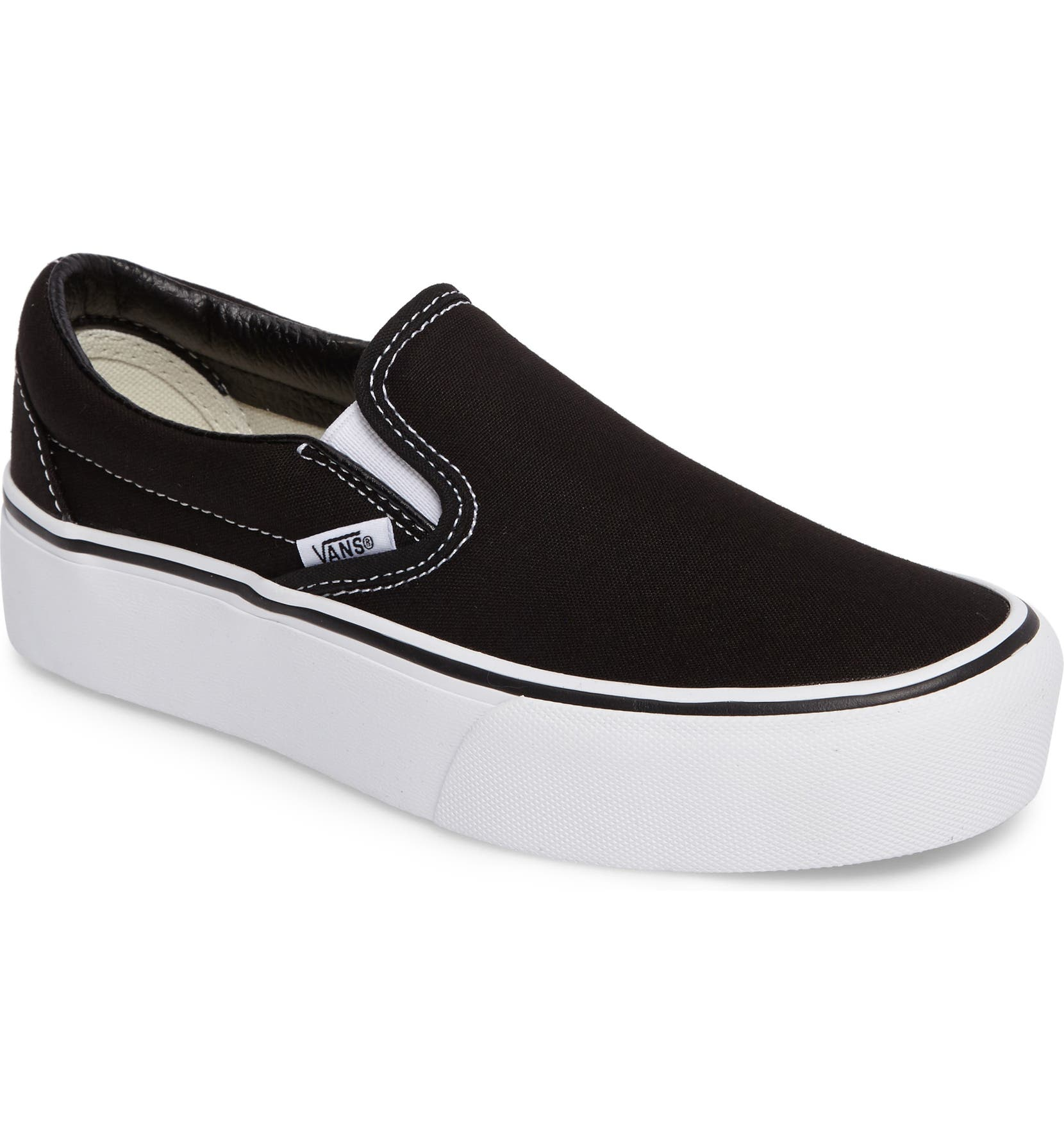 Vans Platform Slip-On Sneaker (Women)  e28b2d1aa