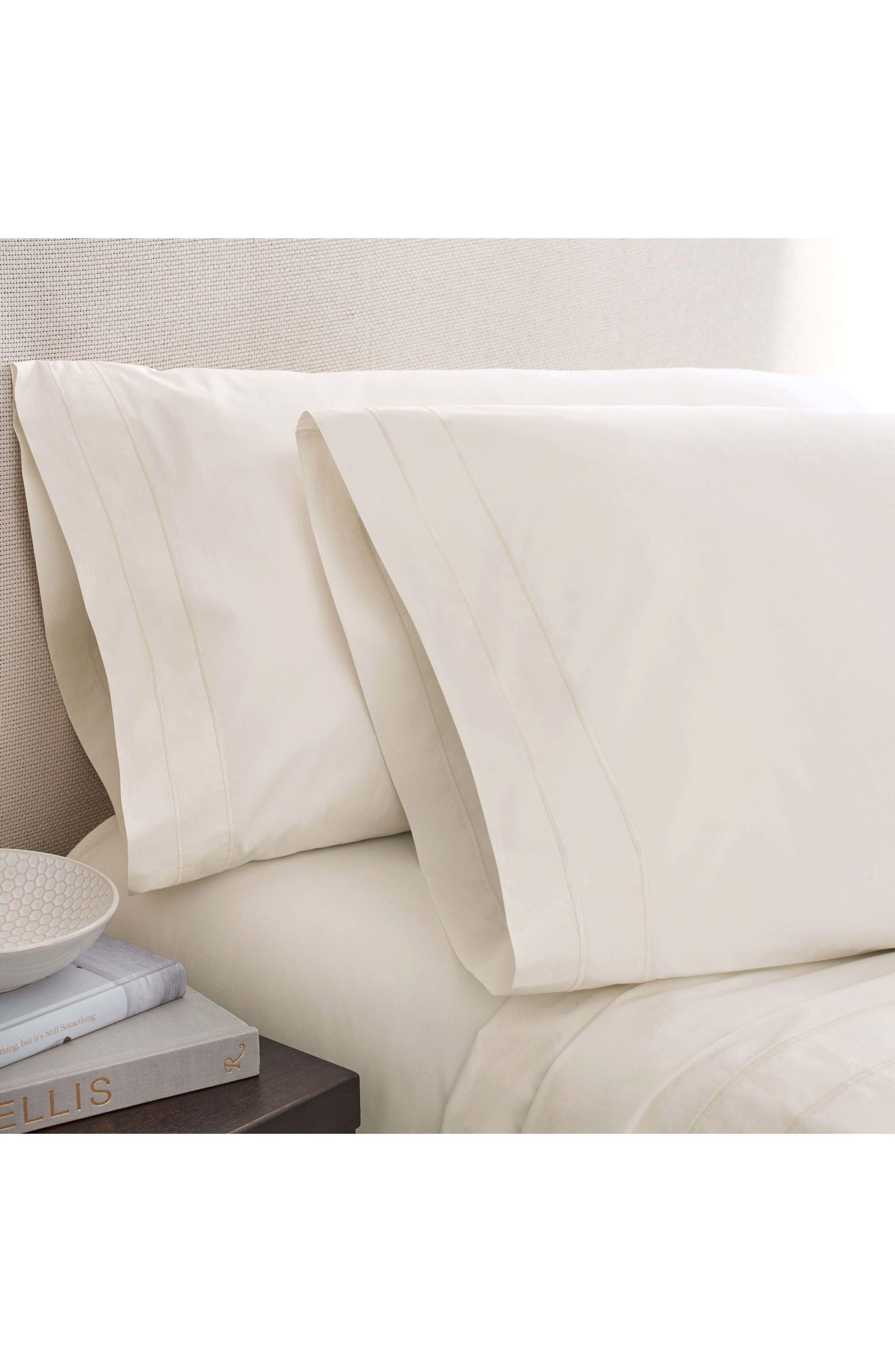 The Denizen Organic Cotton Fitted Sheet,                             Main thumbnail 5, color,