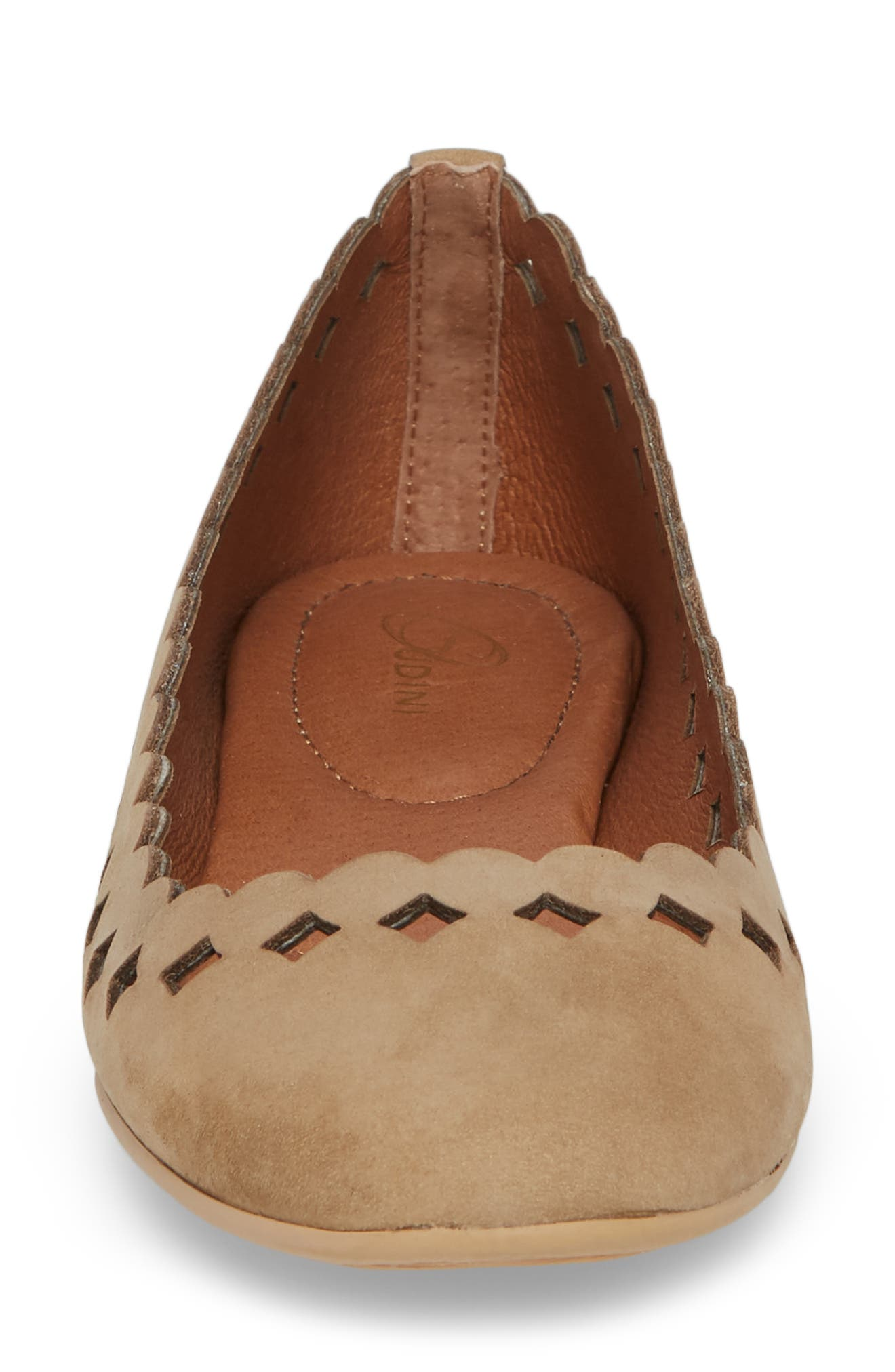 Simmi Flat,                             Alternate thumbnail 4, color,                             NAVIGATE SUEDE