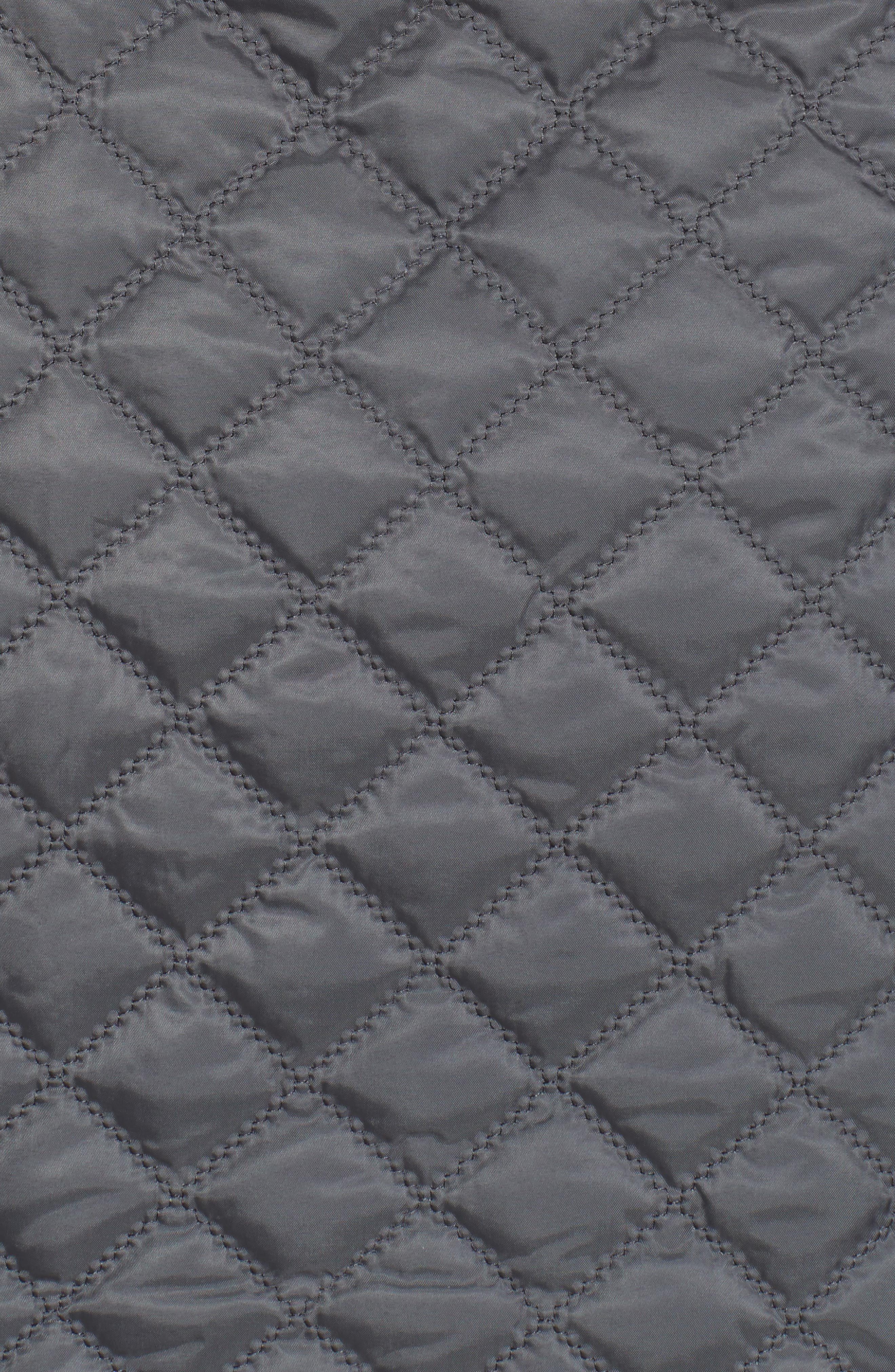 Hooded Quilted Jacket,                             Alternate thumbnail 14, color,