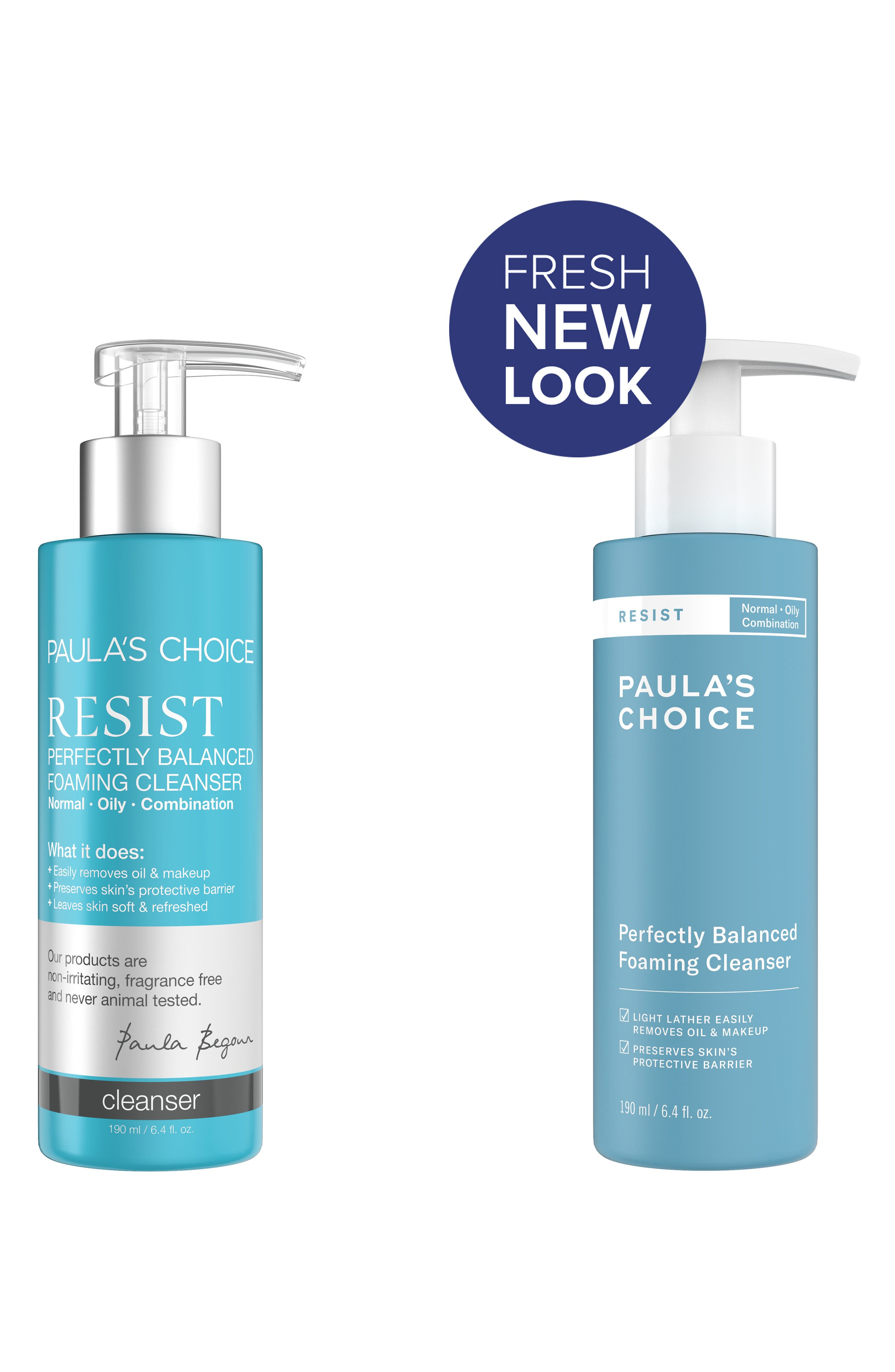 Resist Perfectly Balanced Foaming Cleanser,                             Alternate thumbnail 2, color,                             000