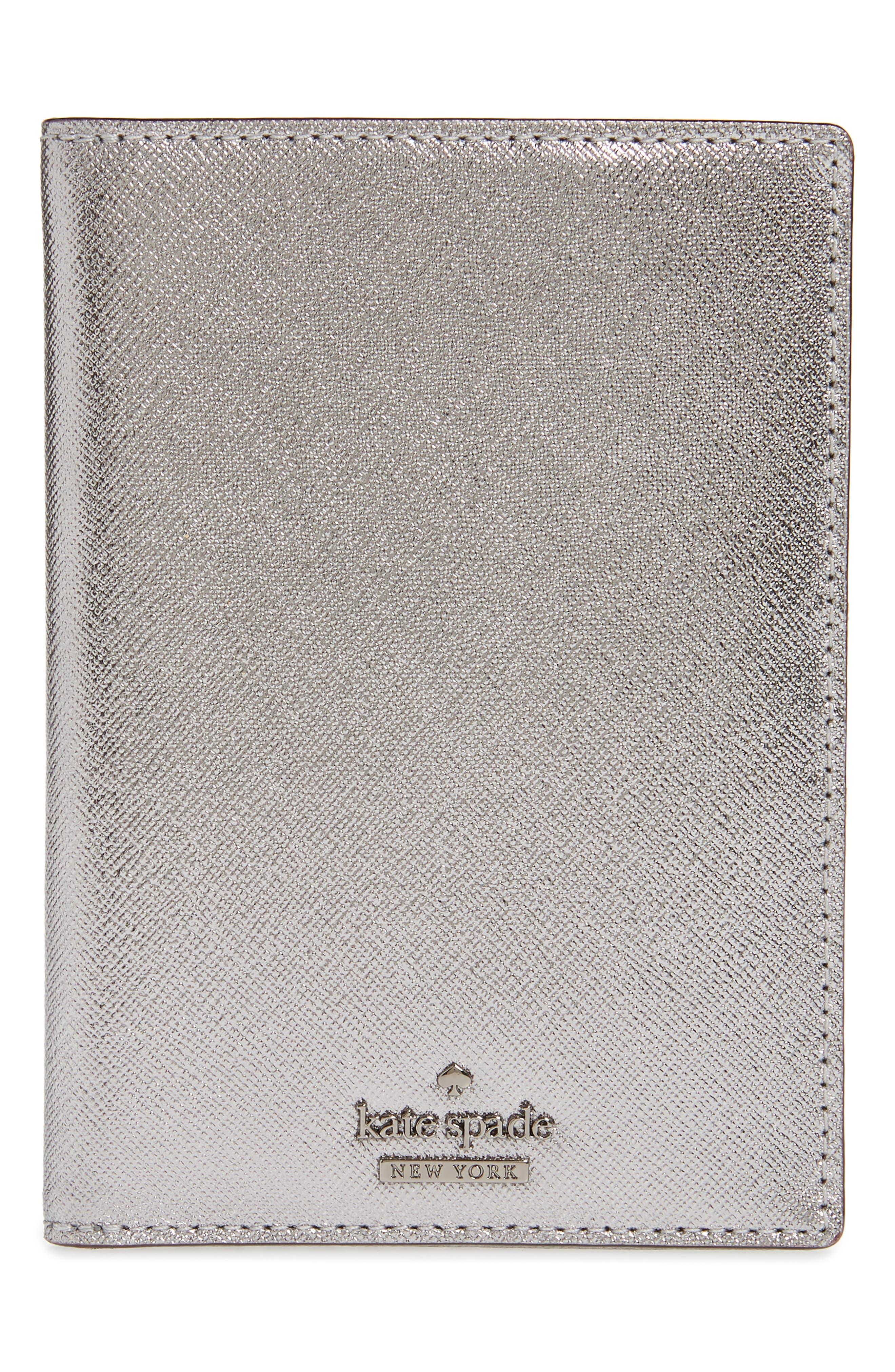 'cameron street' leather passport holder,                         Main,                         color, 040
