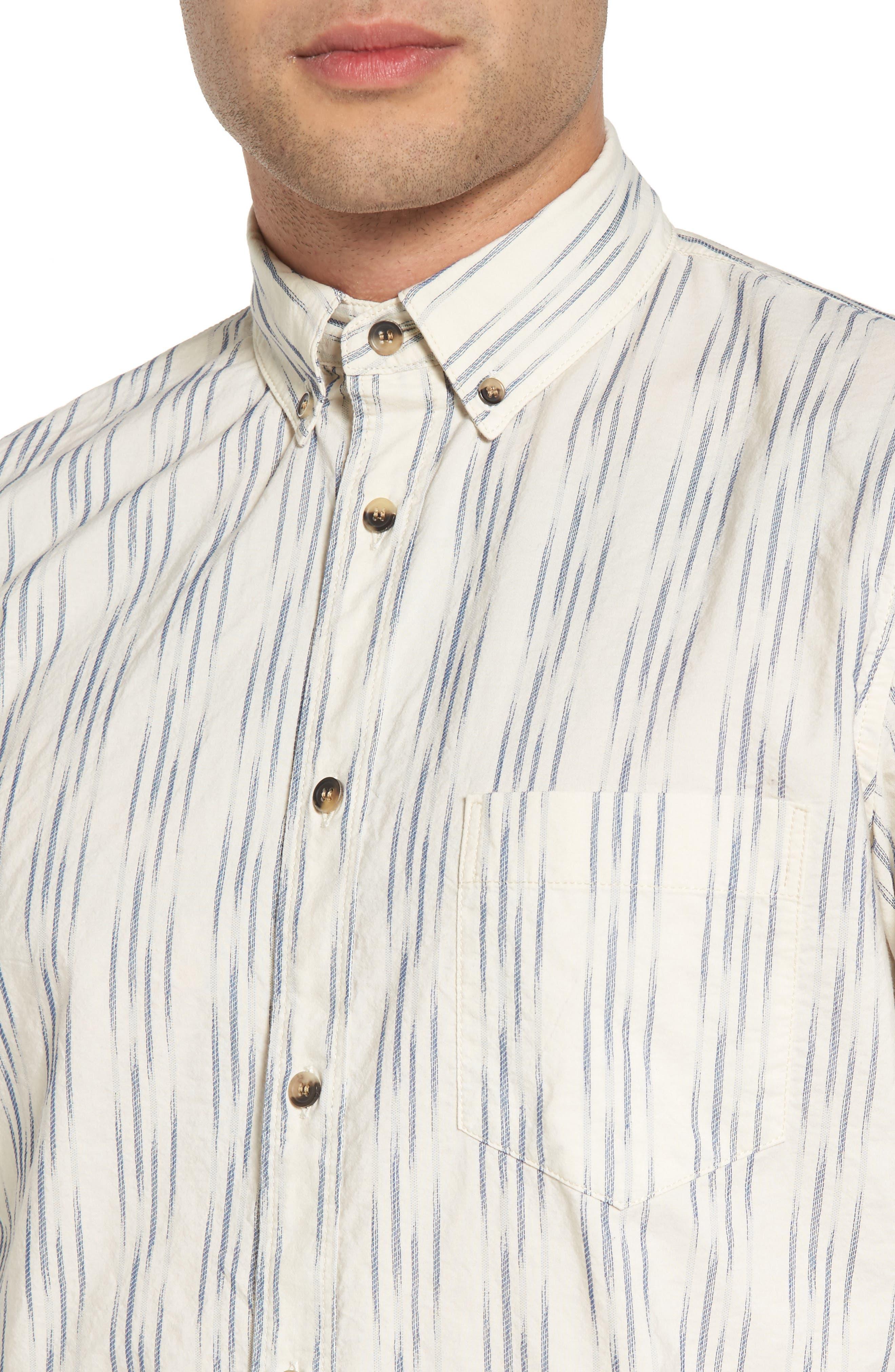 Regular Fit Sport Shirt,                             Alternate thumbnail 4, color,                             100