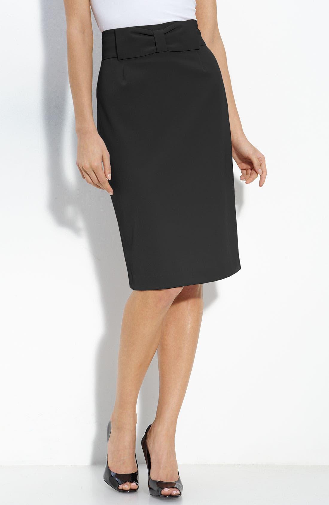 Philosophy Dane Lewis Pencil Skirt, Main, color, 001