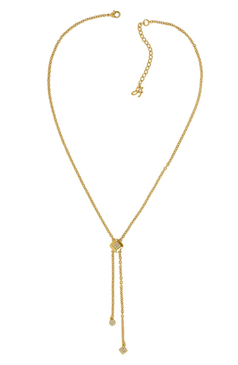 Adore PAVE CRYSTAL NECKLACE