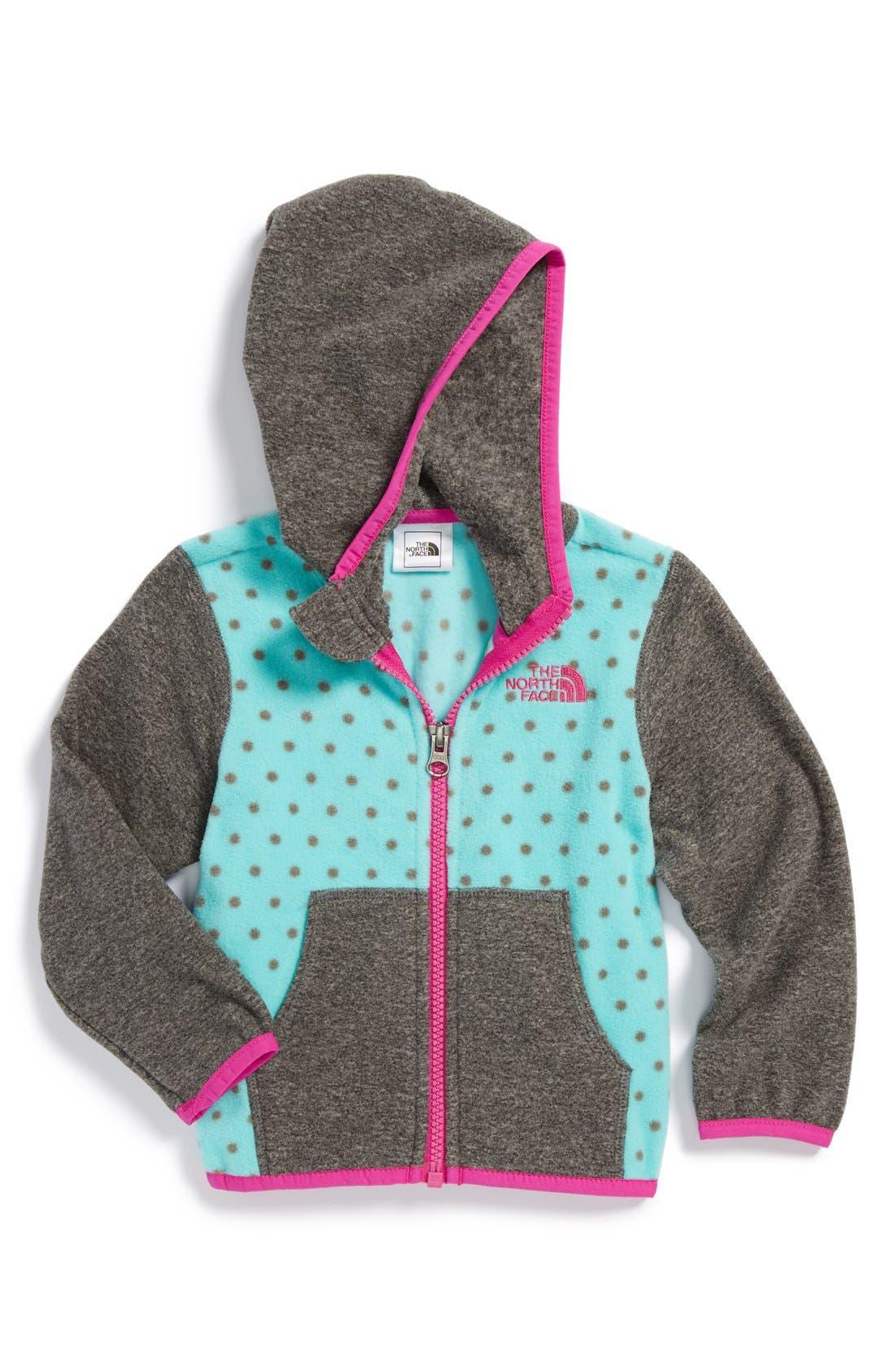 'Glacier' Full Zip Fleece Hoodie, Main, color, 400