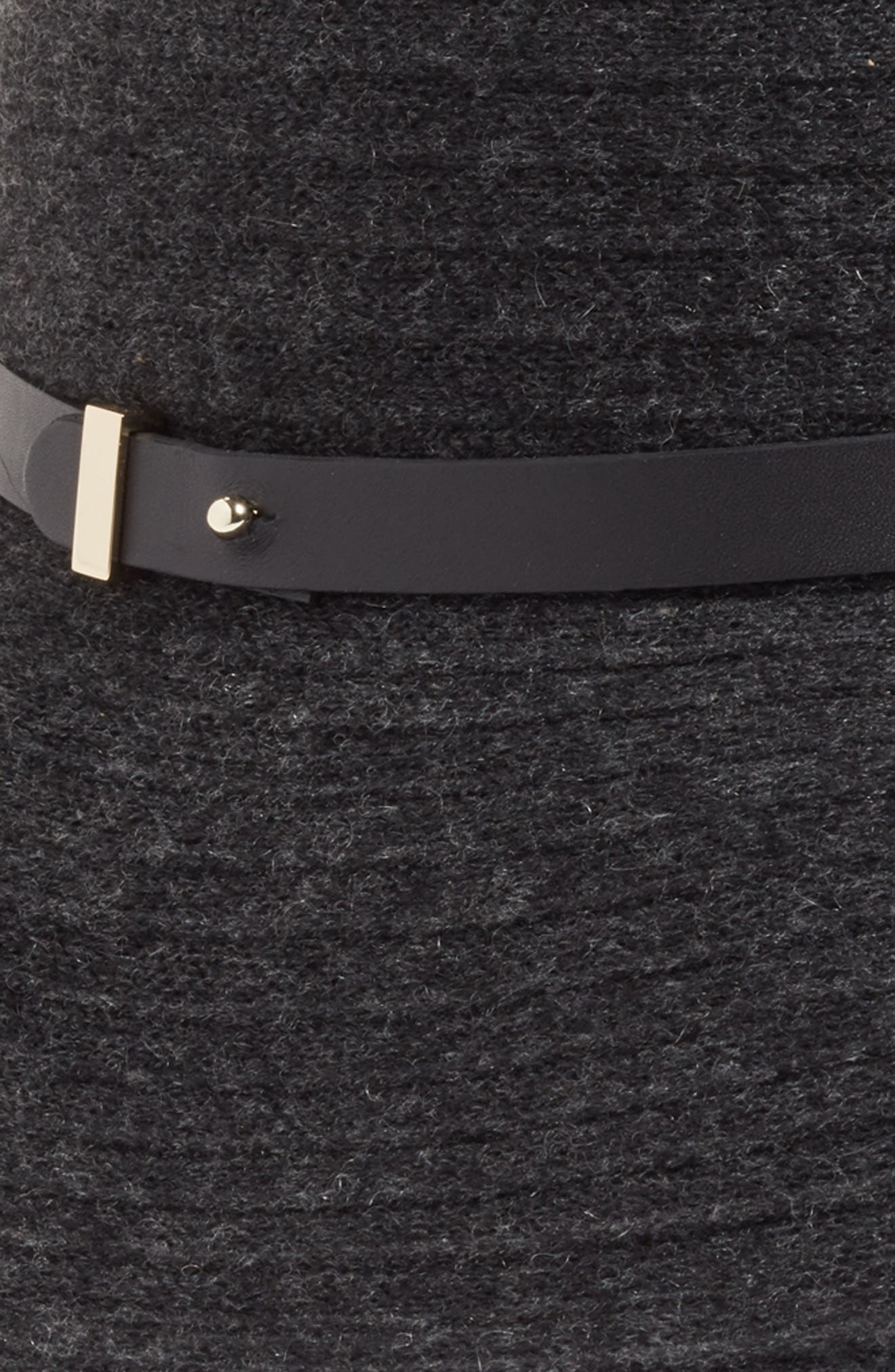 Packable Wool & Cashmere Hat,                             Alternate thumbnail 3, color,