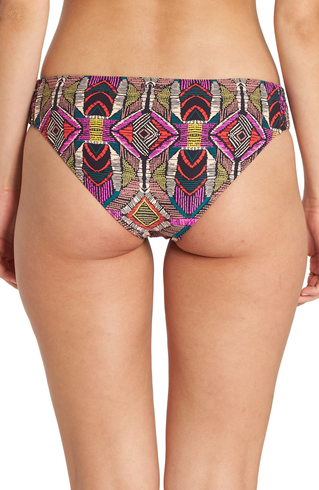 BILLABONG,                             Drumbeats Low Rise Bikini Bottoms,                             Alternate thumbnail 2, color,                             303