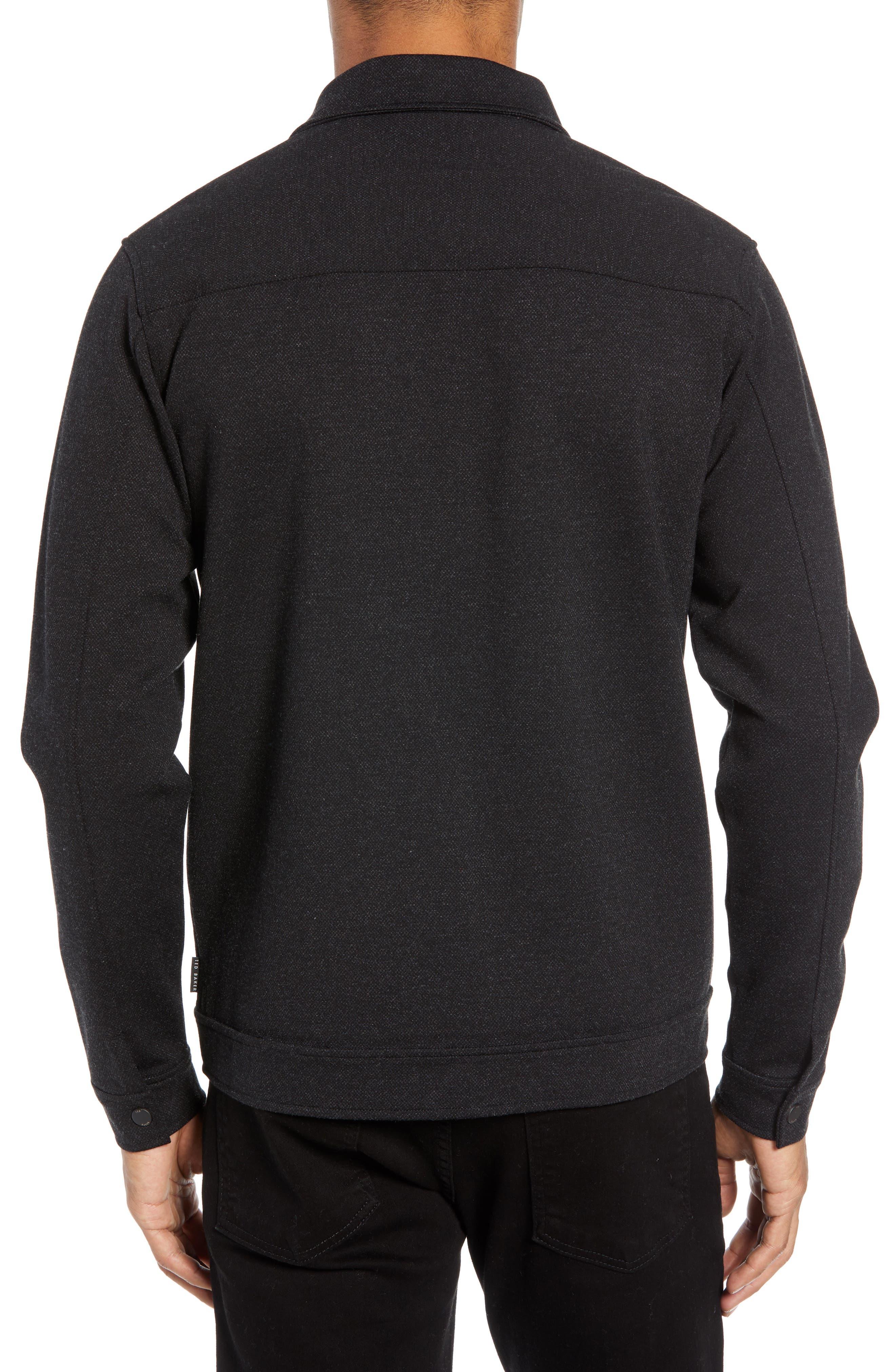 Flapjak Knit Shirt,                             Alternate thumbnail 2, color,                             BLACK