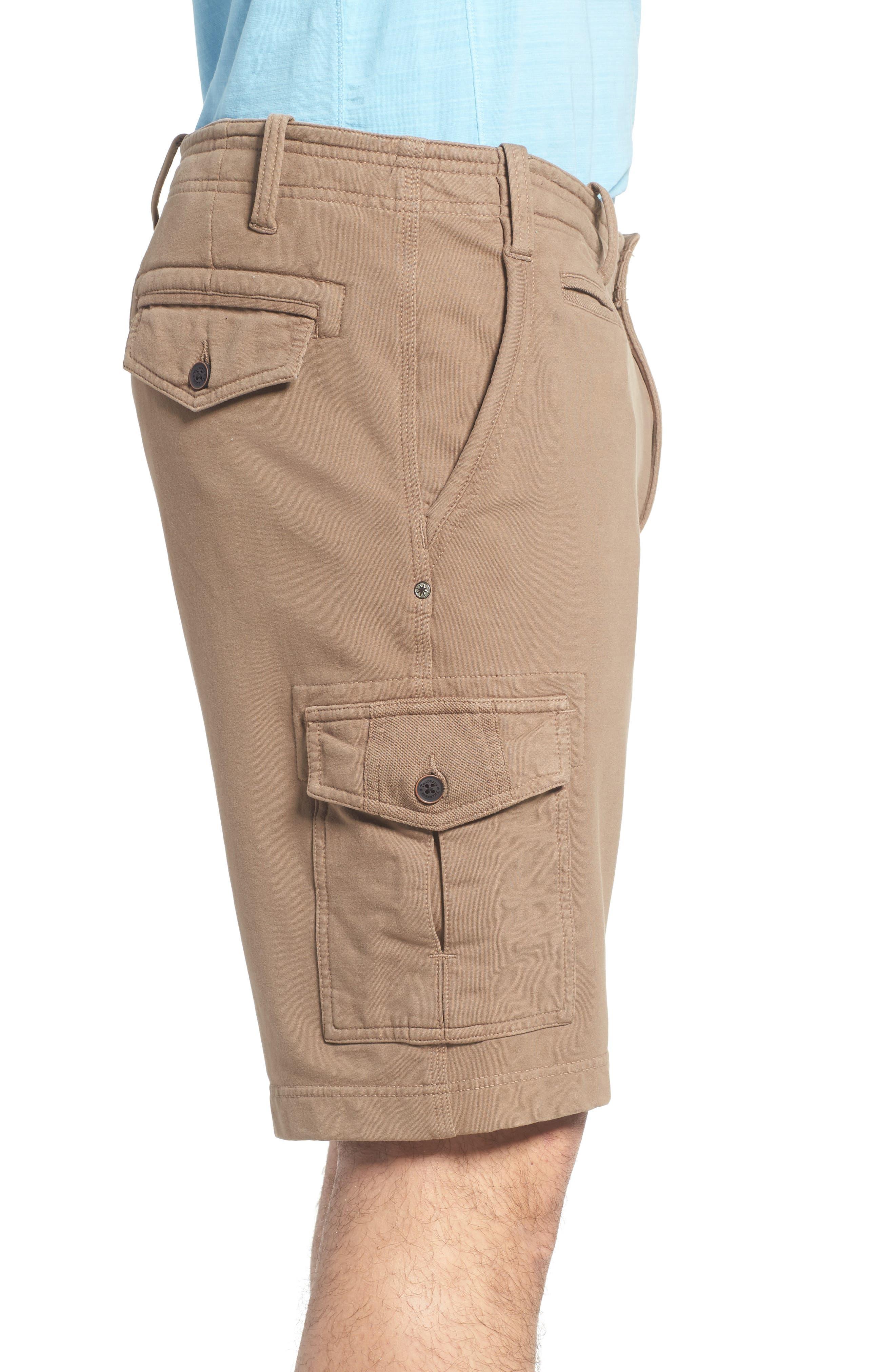 Carlton Knit Cargo Shorts,                             Alternate thumbnail 3, color,                             249