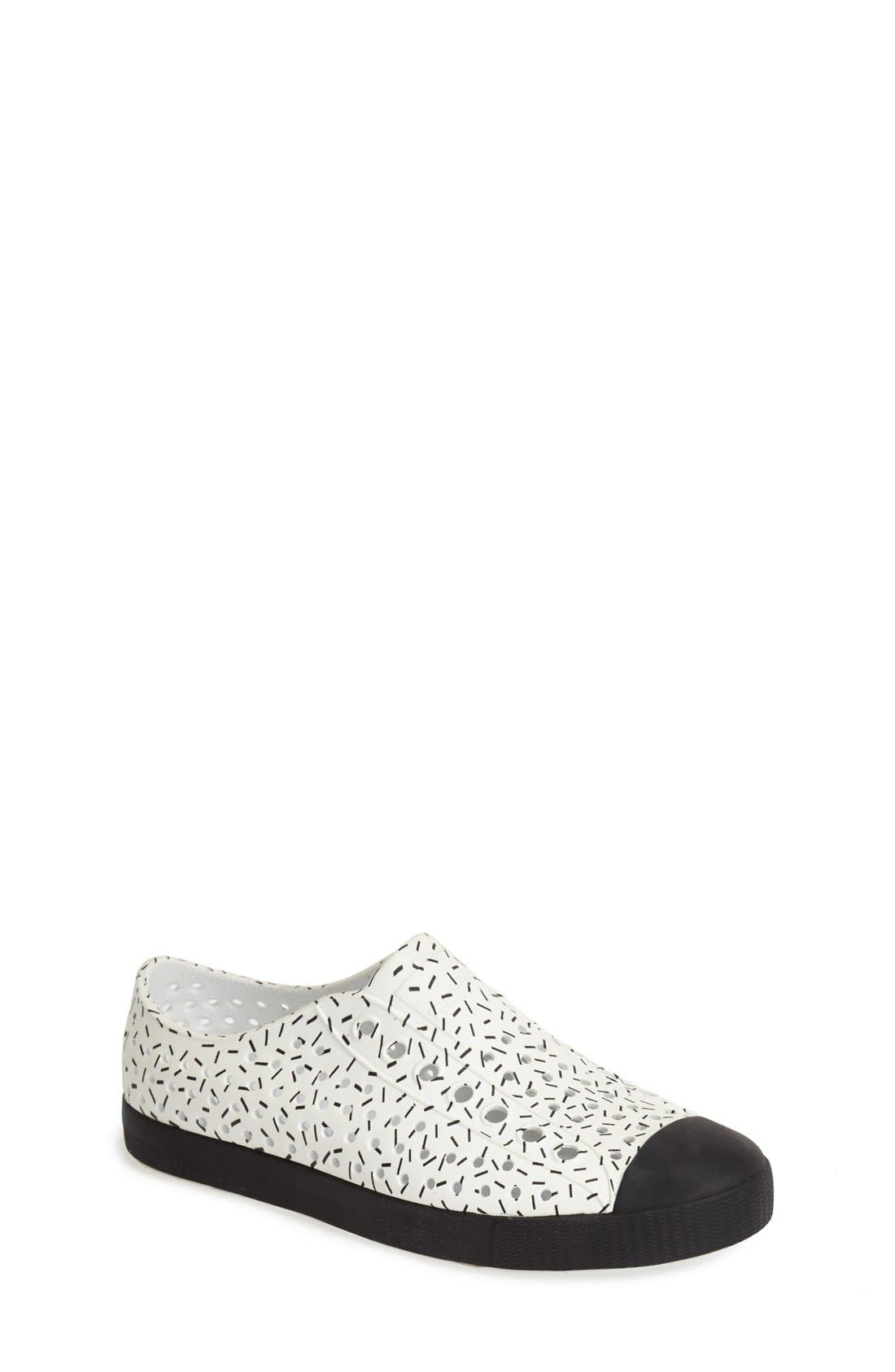 'Jefferson' Printed Slip-On Sneaker,                             Main thumbnail 3, color,