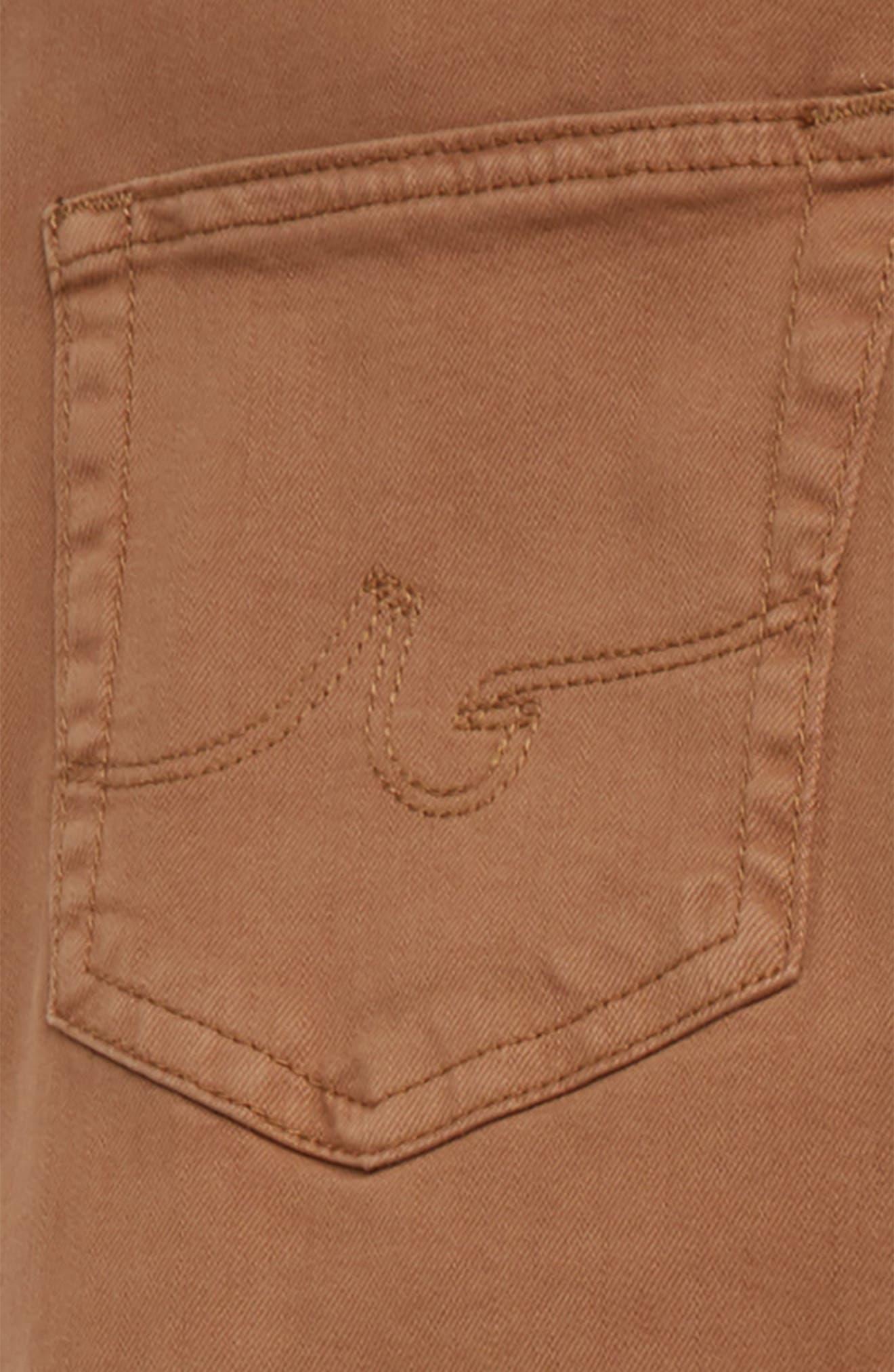 adriano goldschmied kids The Ryker Slim Skinny Jeans,                             Alternate thumbnail 3, color,                             MUSTARD GOLDEN OLIVE