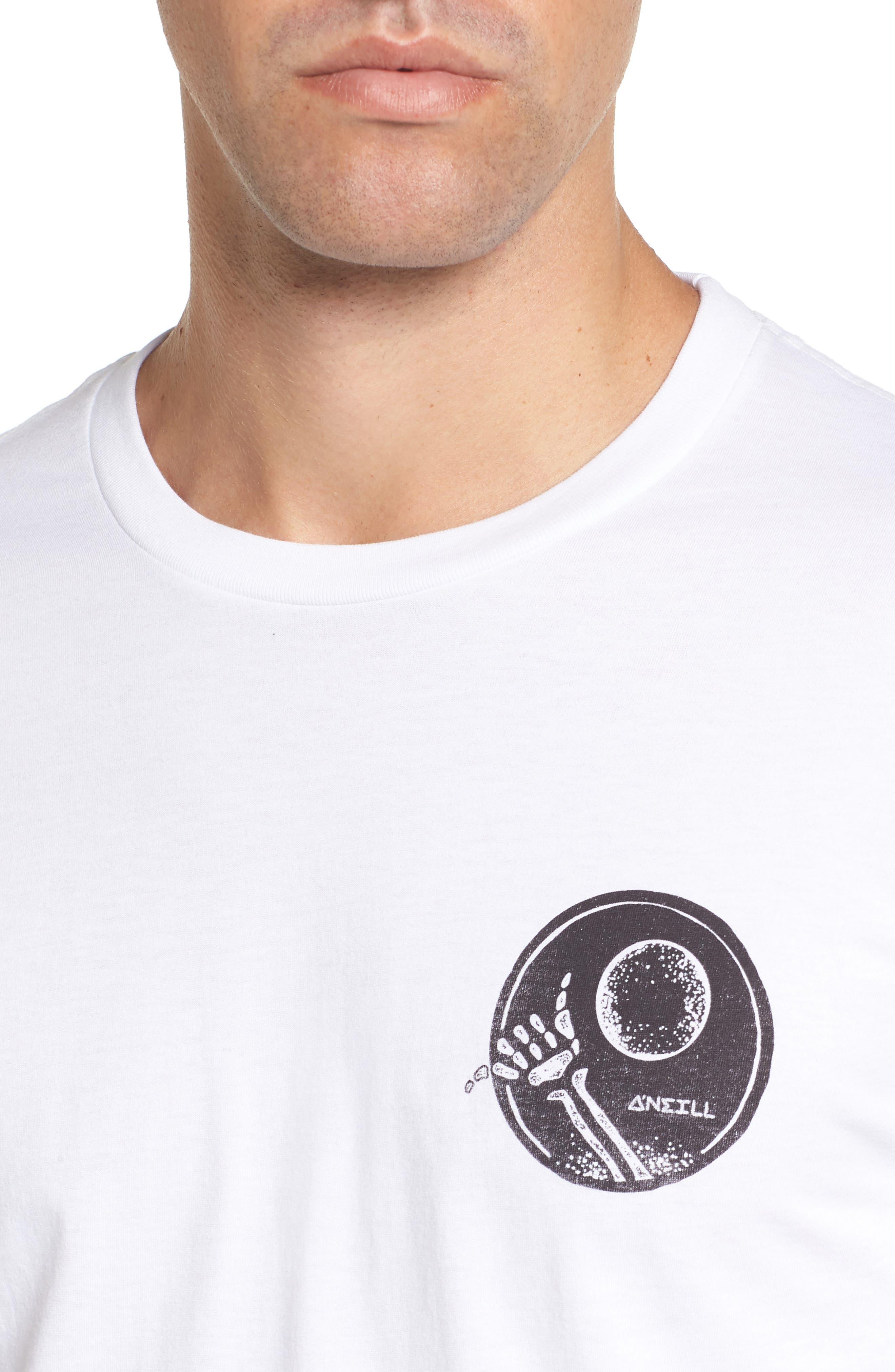 Night Shredder Graphic T-Shirt,                             Alternate thumbnail 4, color,                             100