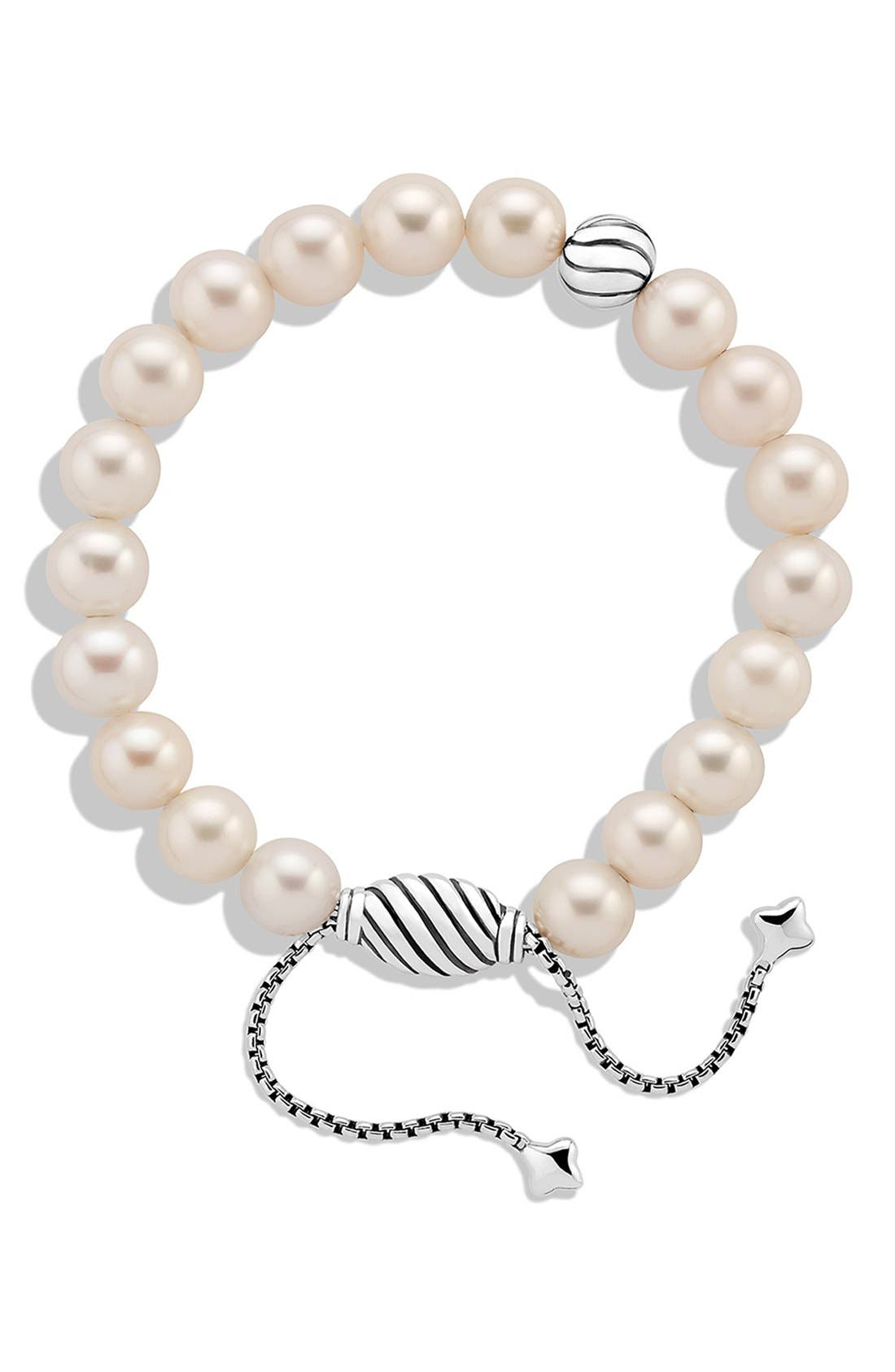 'Spiritual Beads' Bracelet with Pearls,                             Alternate thumbnail 2, color,                             PEARL
