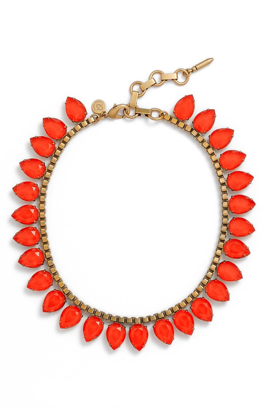 'Sylvia' Crystal Collar Necklace,                             Main thumbnail 7, color,