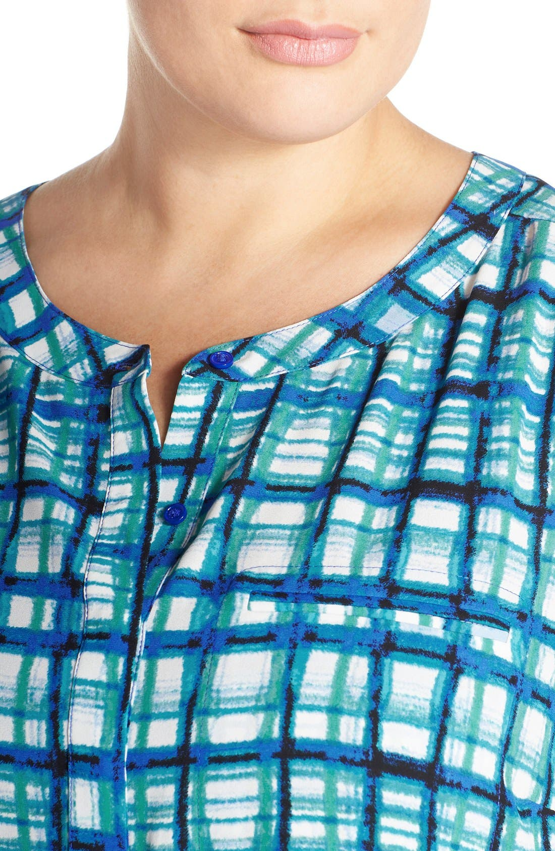 Henley Top,                             Alternate thumbnail 301, color,