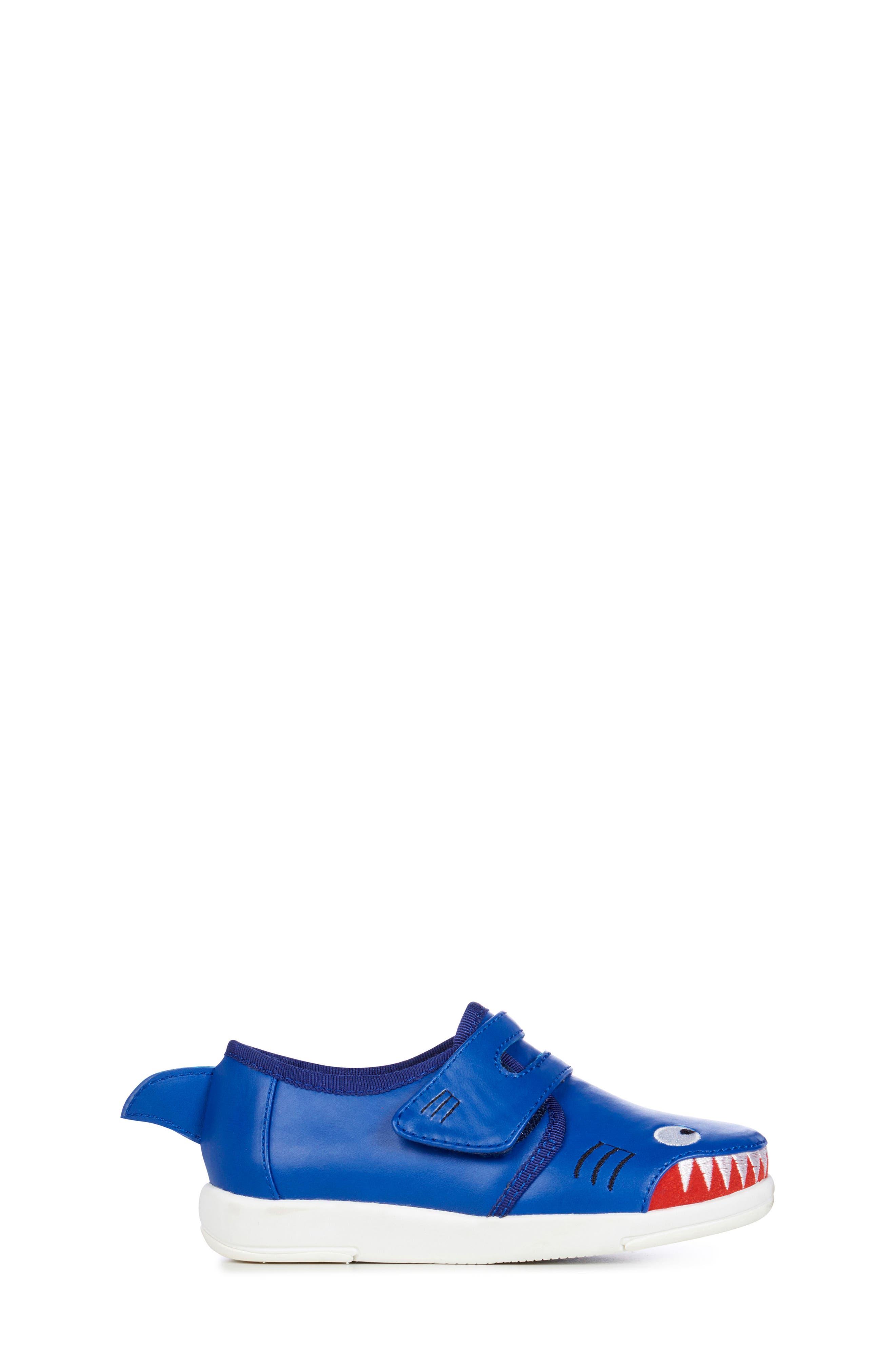 Sneaker,                             Alternate thumbnail 3, color,                             INDIGO SHARK