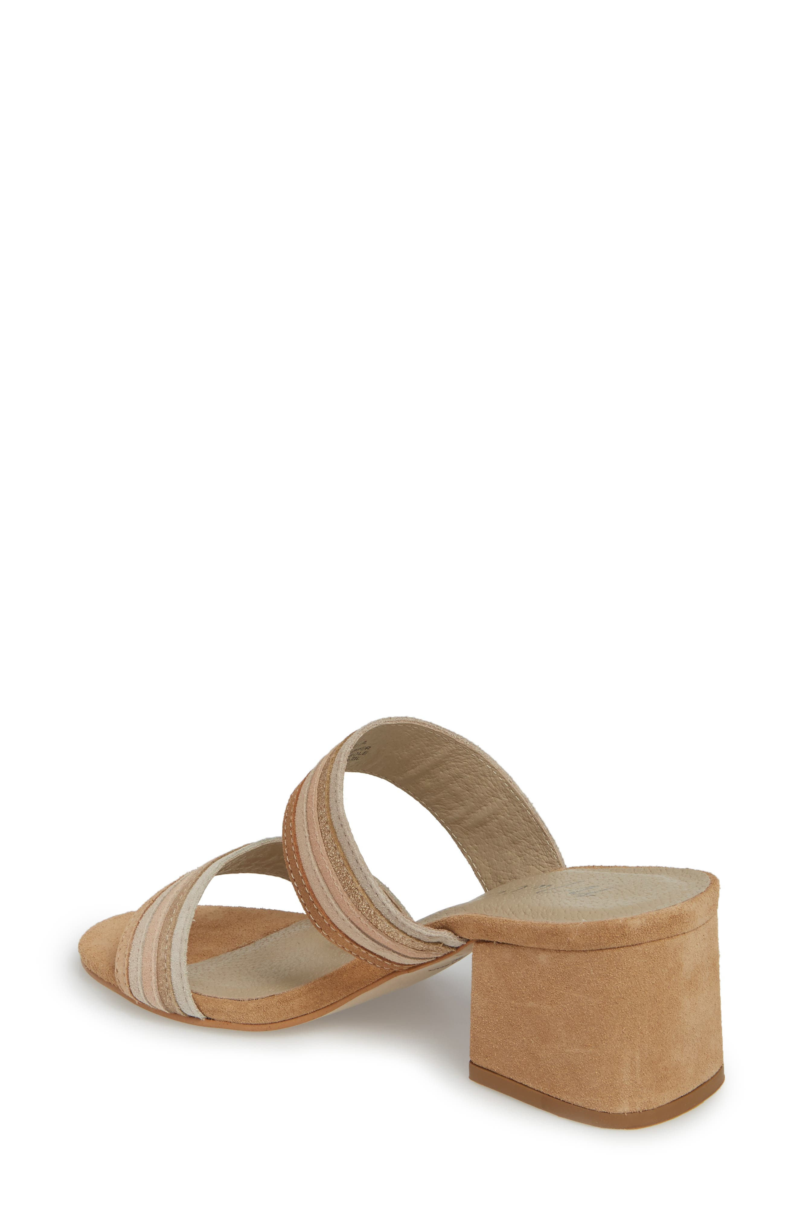 Bonita Slide Sandal,                             Alternate thumbnail 2, color,                             NATURAL SUEDE