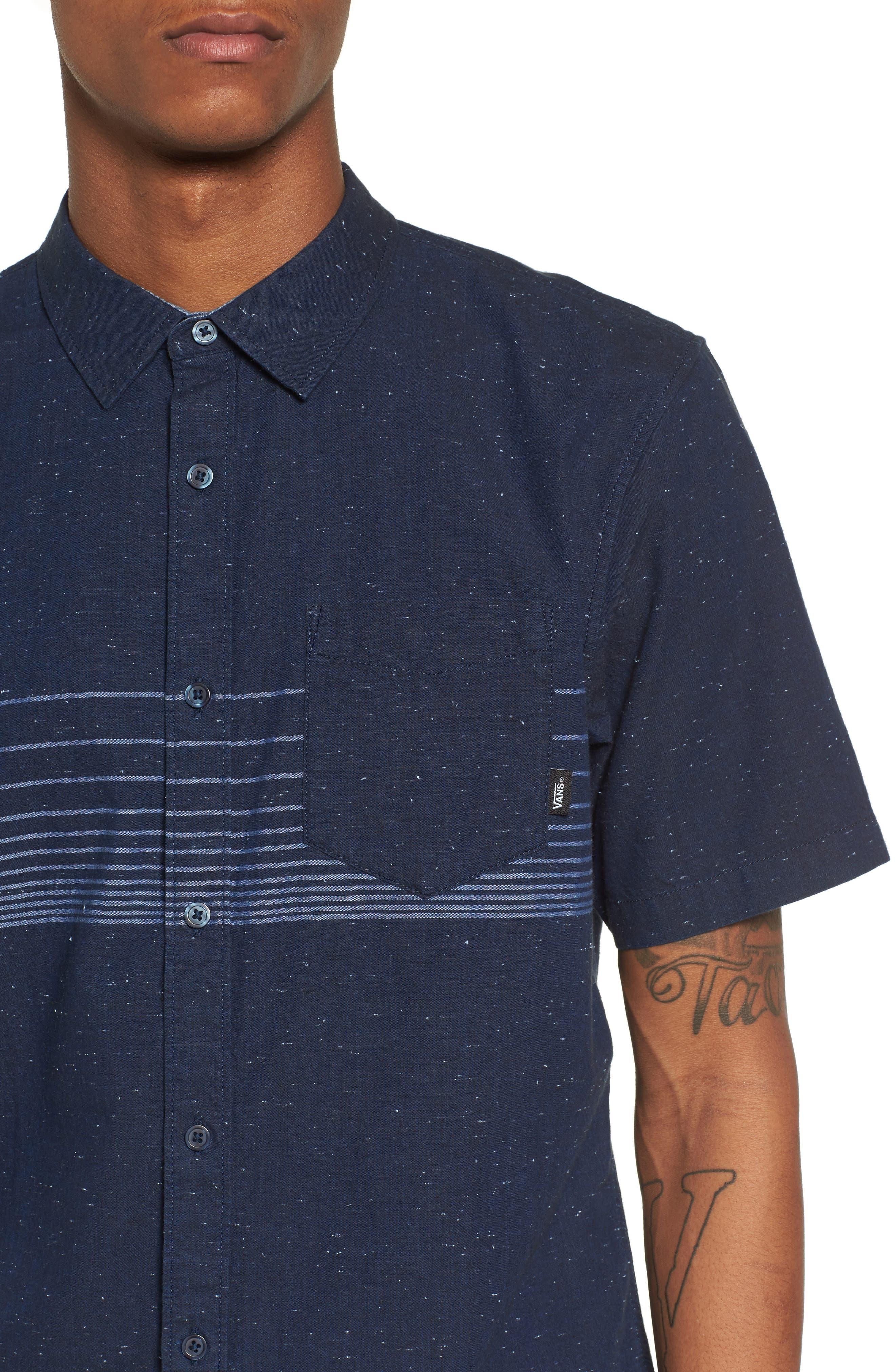 Gillis Woven Shirt,                             Alternate thumbnail 4, color,