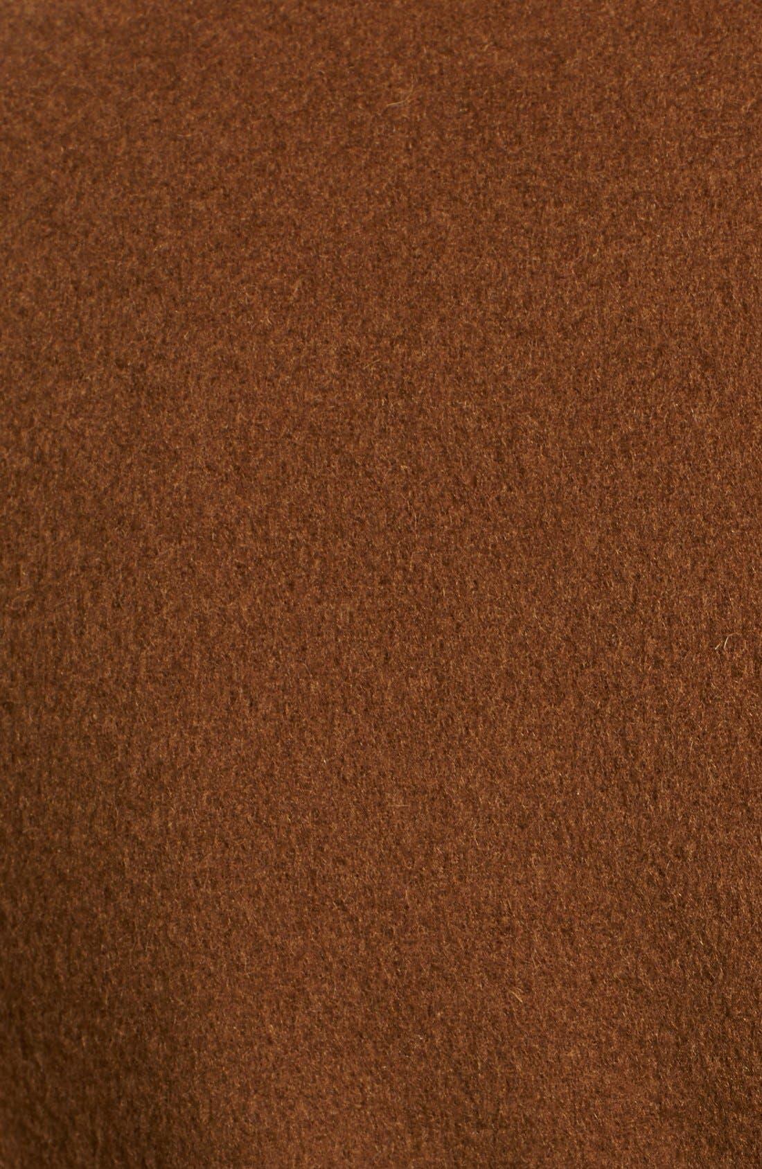 Donna Karan Collection Belted Cashmere Wrap Coat,                             Alternate thumbnail 3, color,                             930