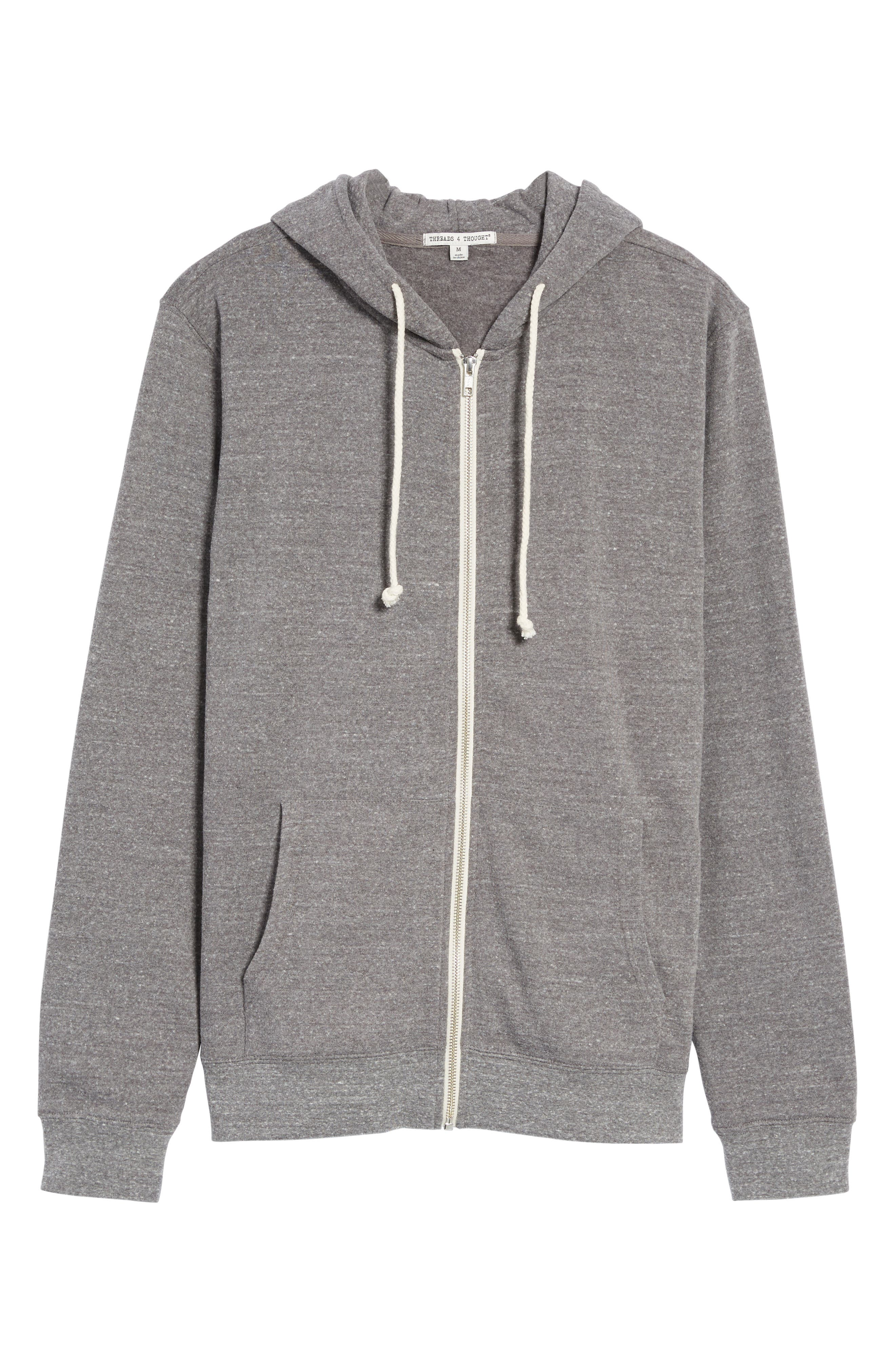Threads for Thought Trim Fit Heathered Hoodie,                             Alternate thumbnail 65, color,