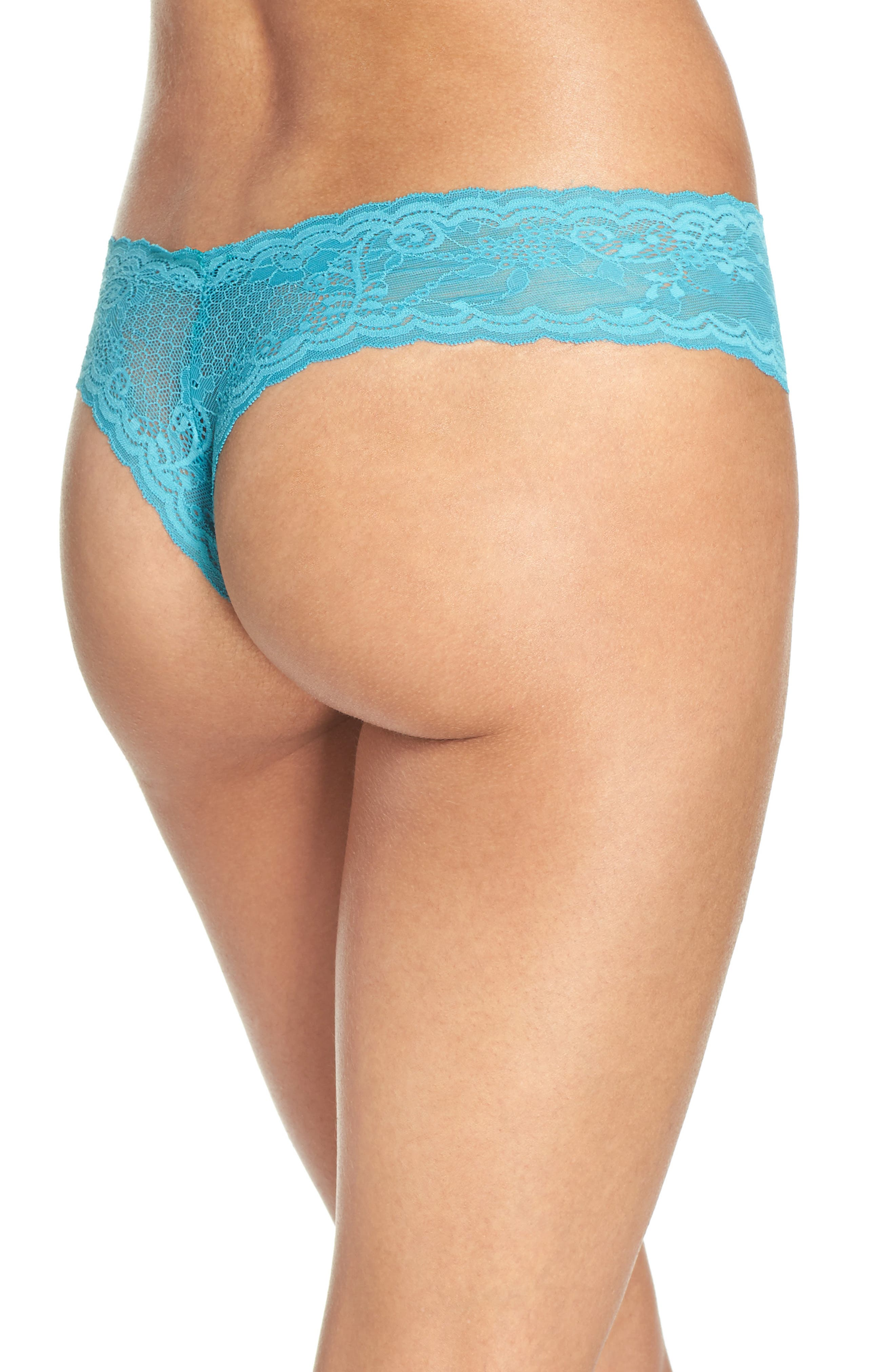 'Trenta' Low Rise Lace Thong,                             Alternate thumbnail 52, color,