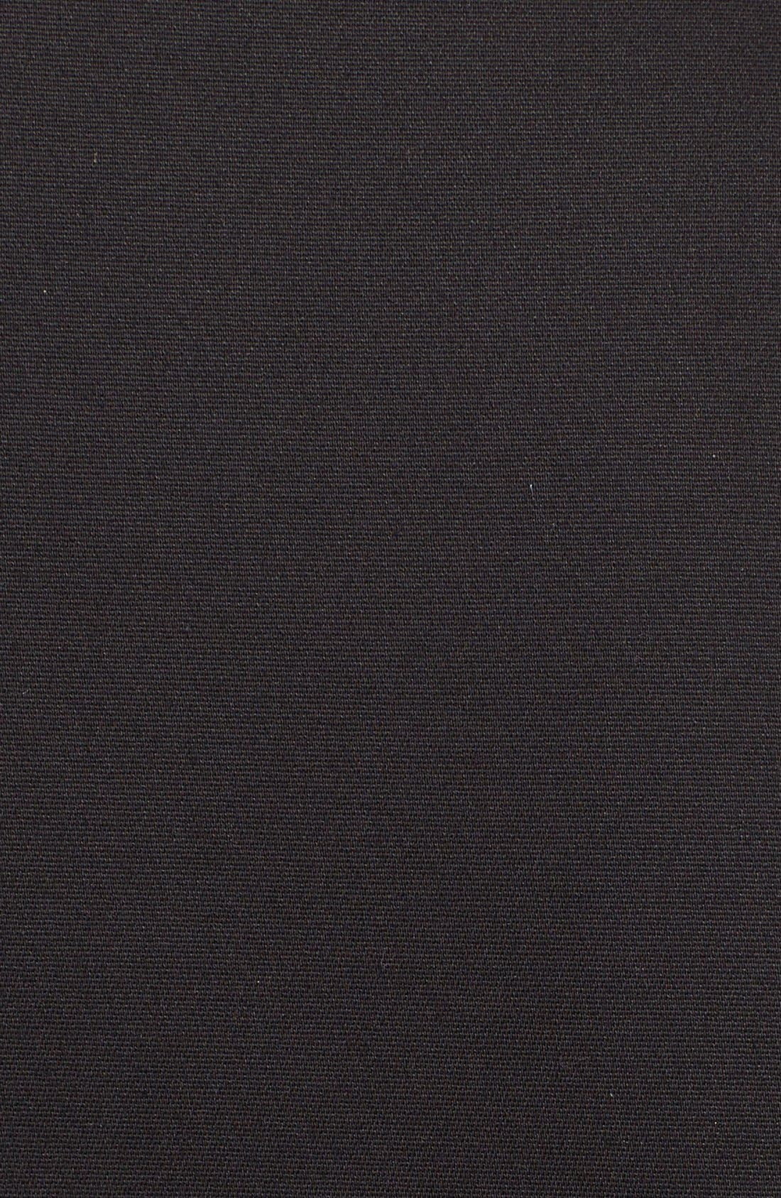 'Bria' Peplum Fit & Flare Dress,                             Alternate thumbnail 6, color,                             009