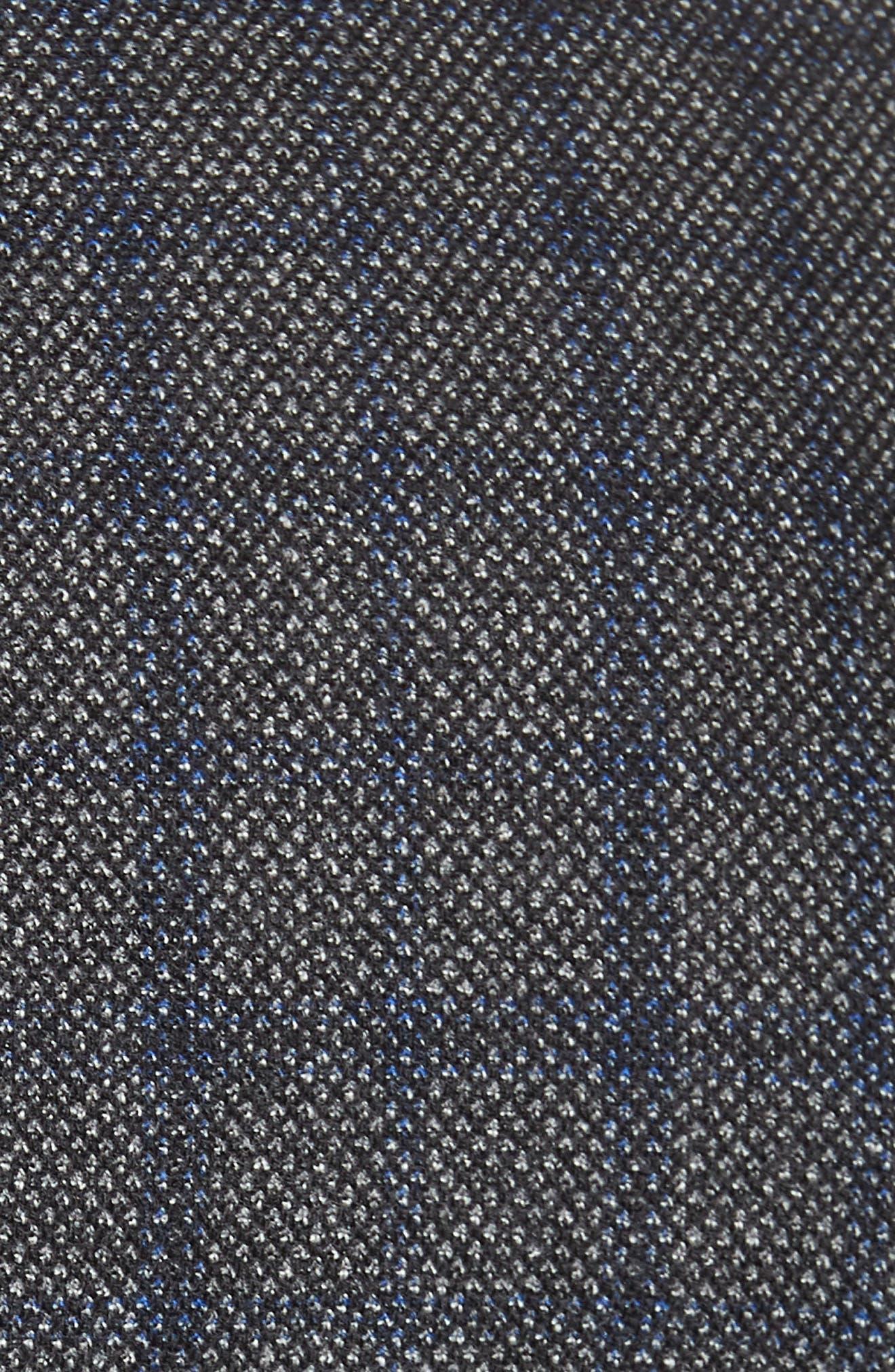 Konan Trim Fit Windowpane Wool Sport Coat,                             Alternate thumbnail 6, color,                             GREY