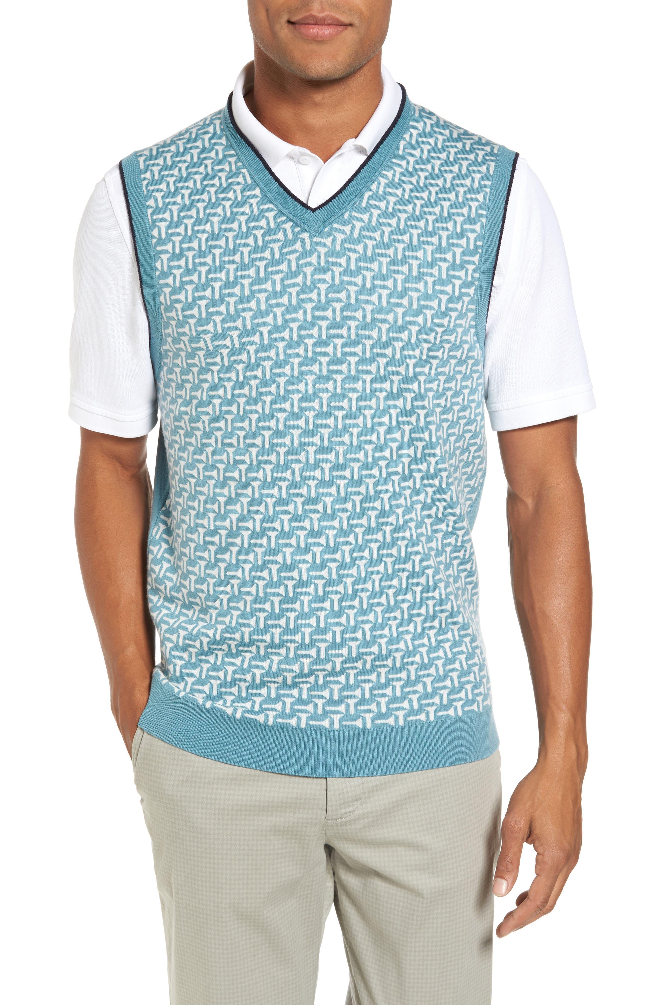 Tommas Golf Merino Sweater Vest,                             Main thumbnail 1, color,                             331