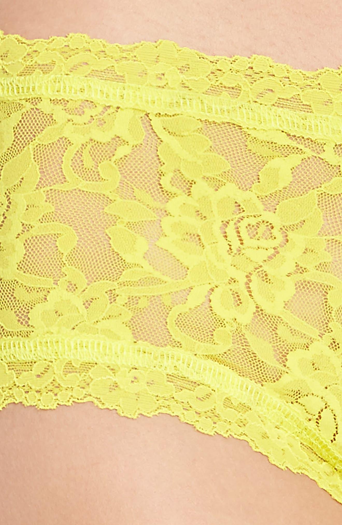 'Signature Lace' Boyshorts,                             Alternate thumbnail 377, color,