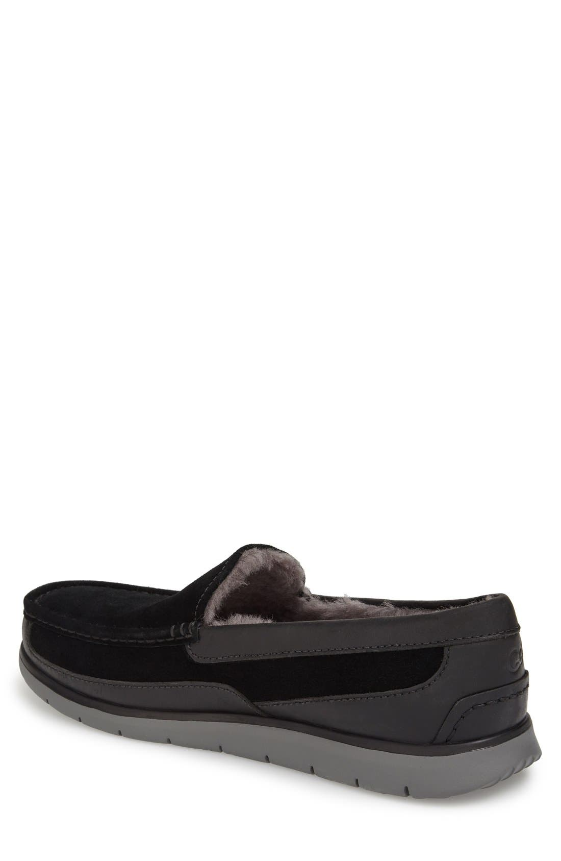 Fascot Indoor/Outdoor Slipper,                             Alternate thumbnail 2, color,                             001