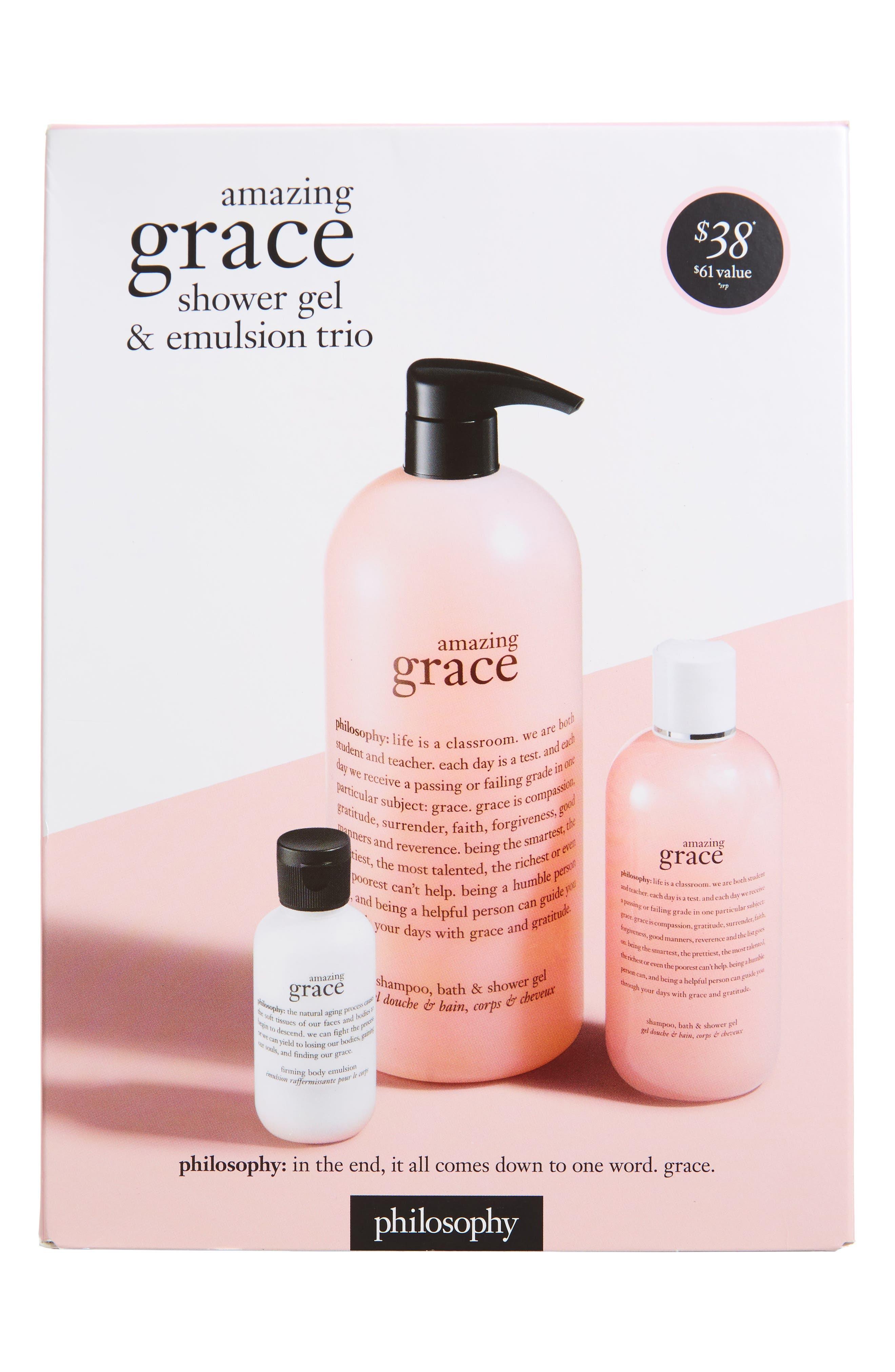 amazing grace trio,                             Alternate thumbnail 2, color,                             000