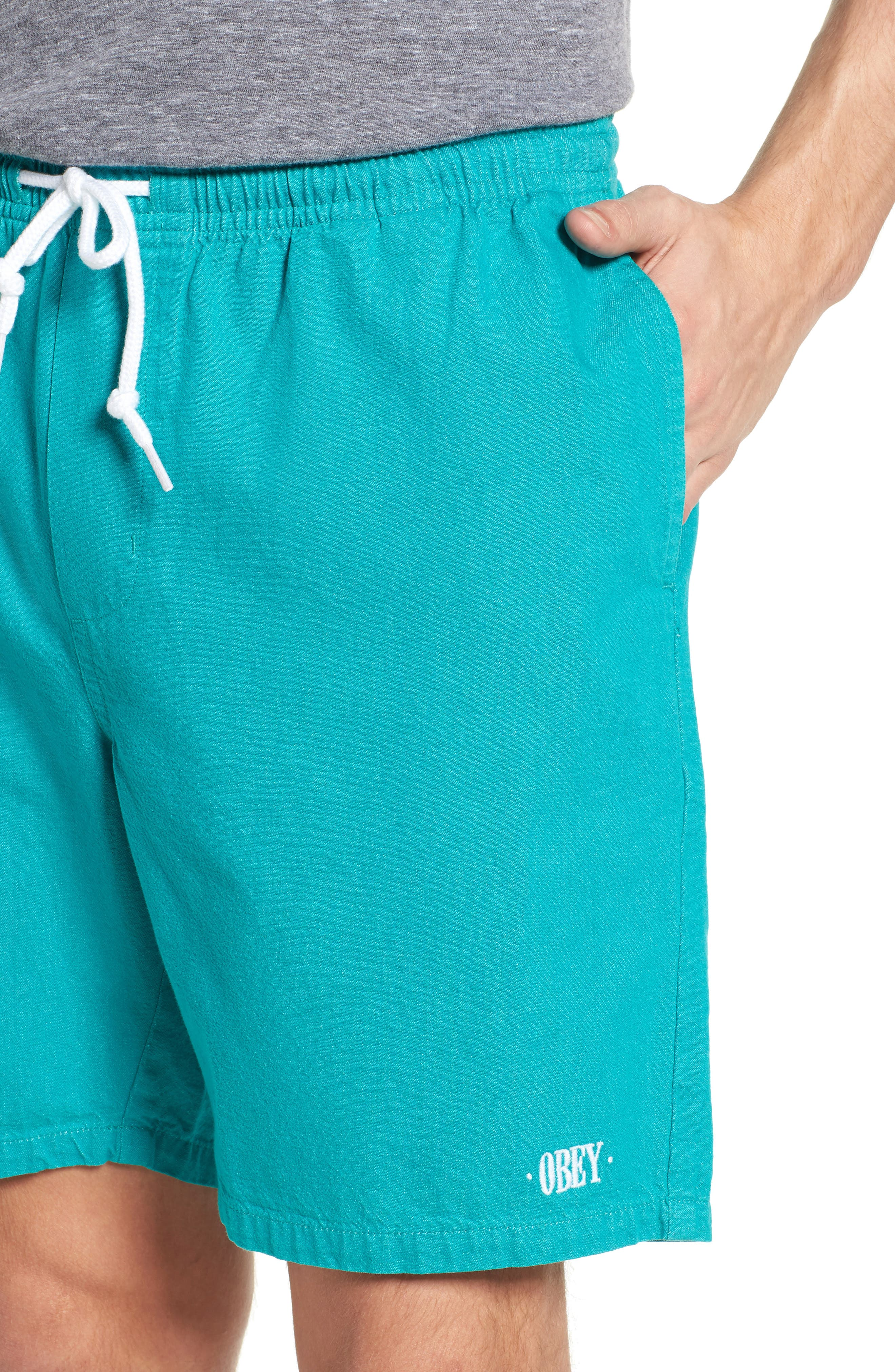 Keble Drawstring Shorts,                             Alternate thumbnail 4, color,                             445
