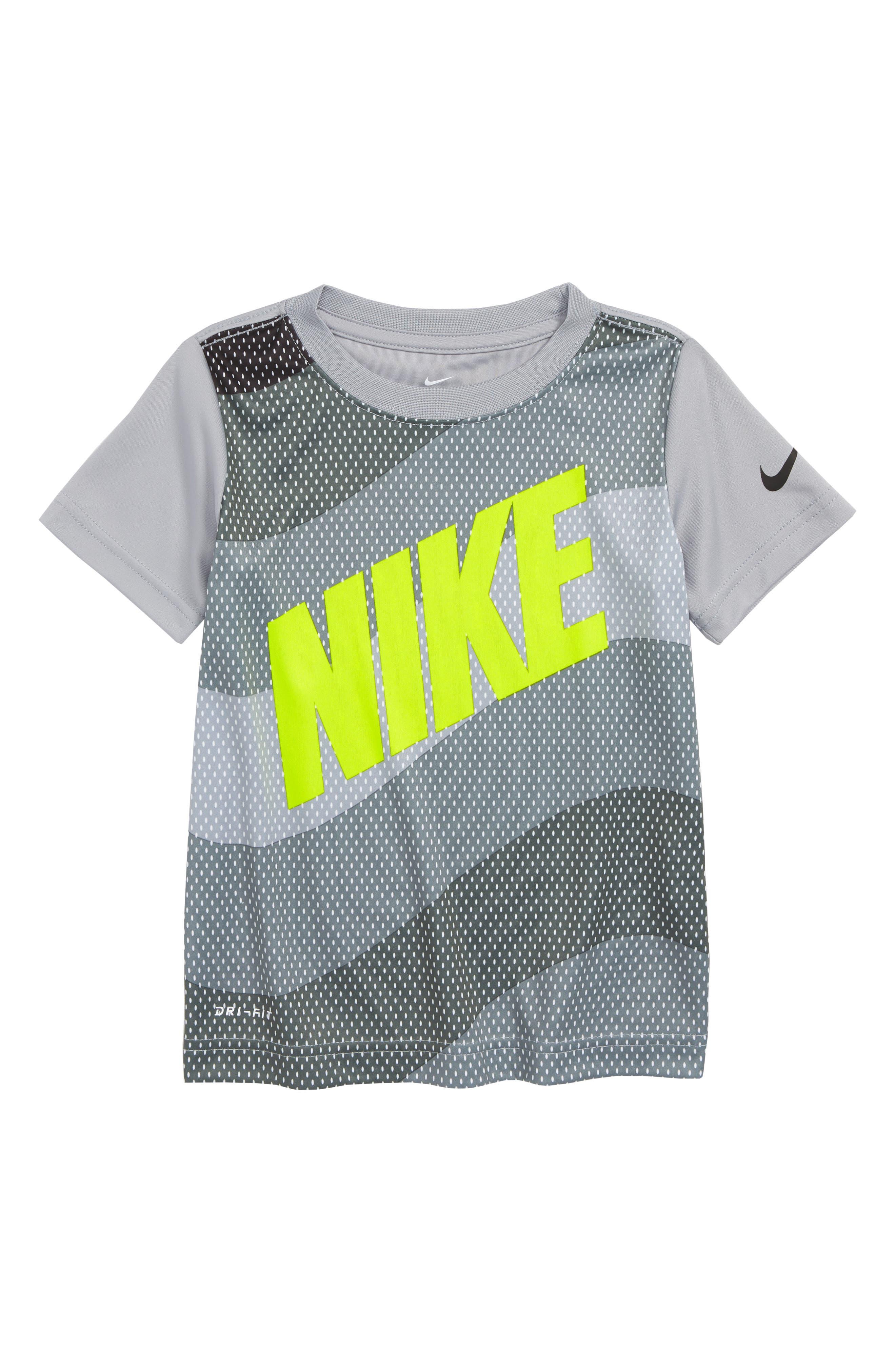 Dry Wavey Mesh Graphic T-Shirt,                             Main thumbnail 1, color,                             052