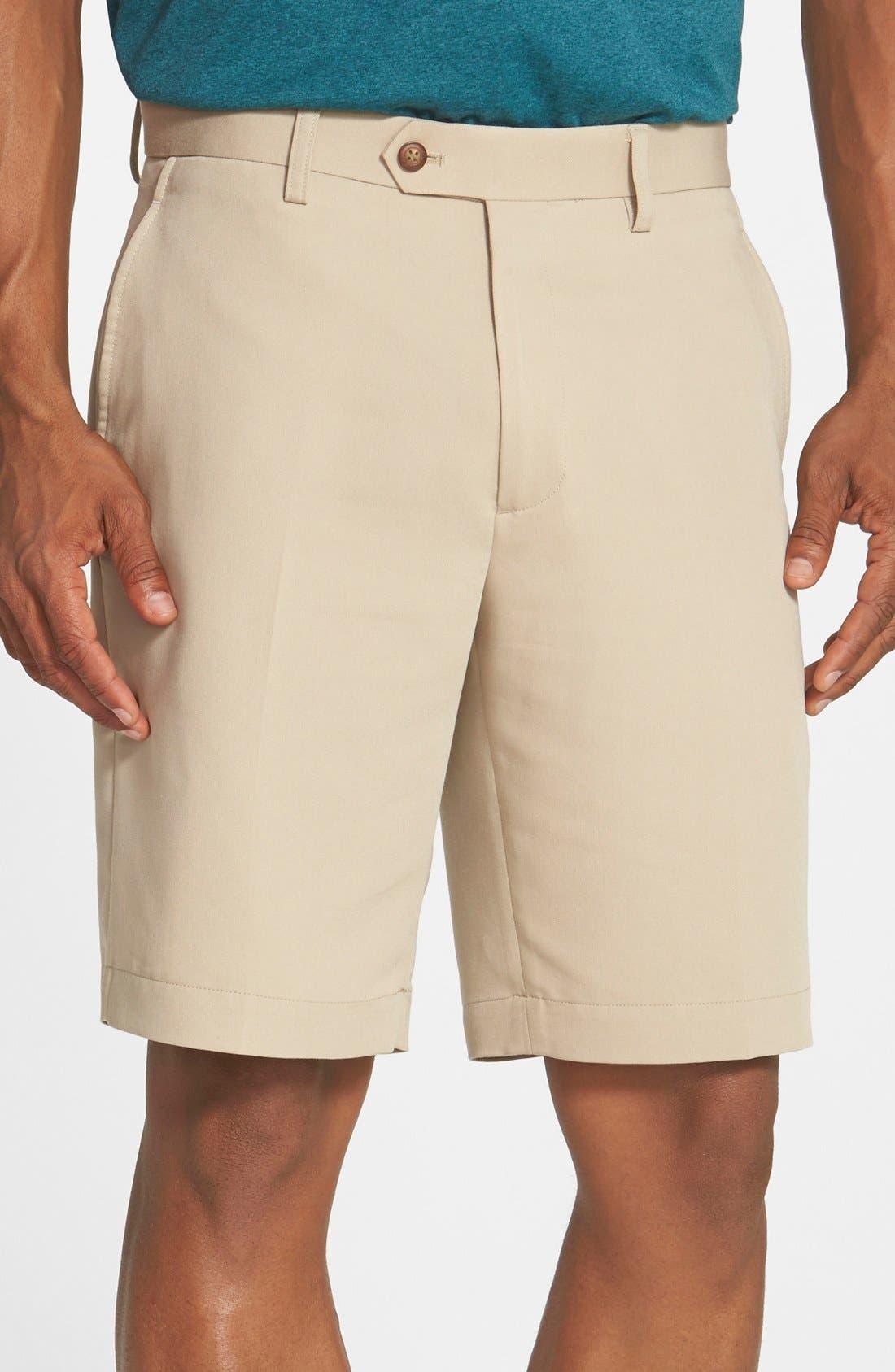 Microfiber Twill Shorts,                             Main thumbnail 2, color,