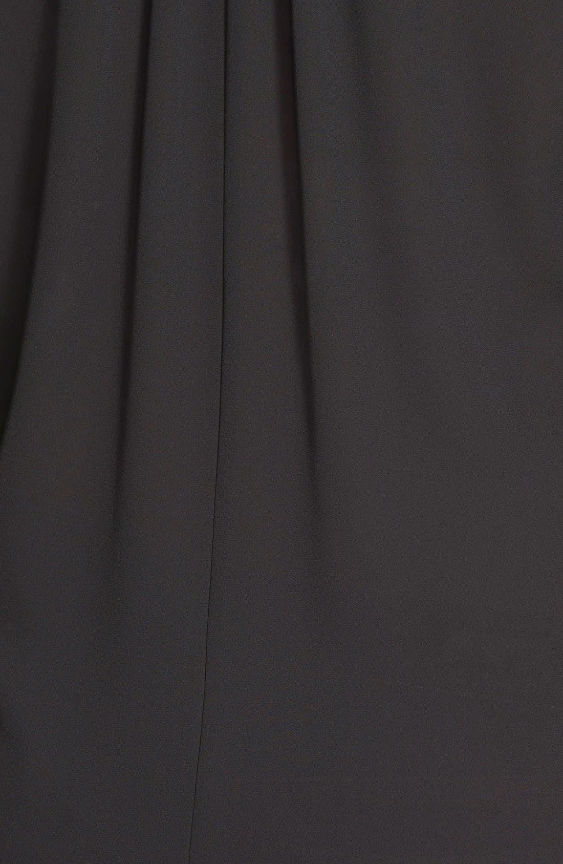 Perfect Roll Tab Sleeve Tunic,                             Alternate thumbnail 7, color,                             BLACK