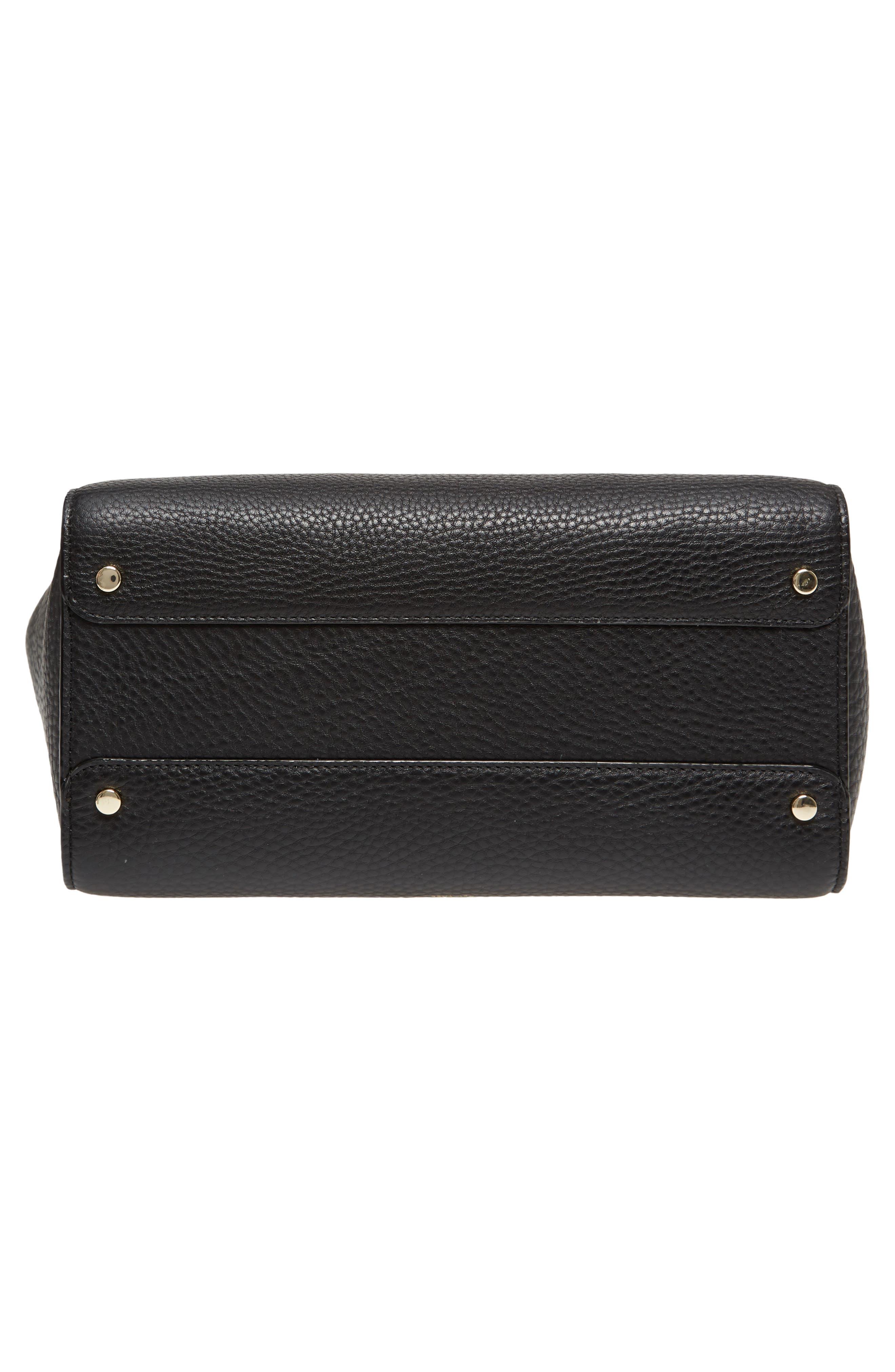 carlyle street - alexa leather satchel,                             Alternate thumbnail 11, color,