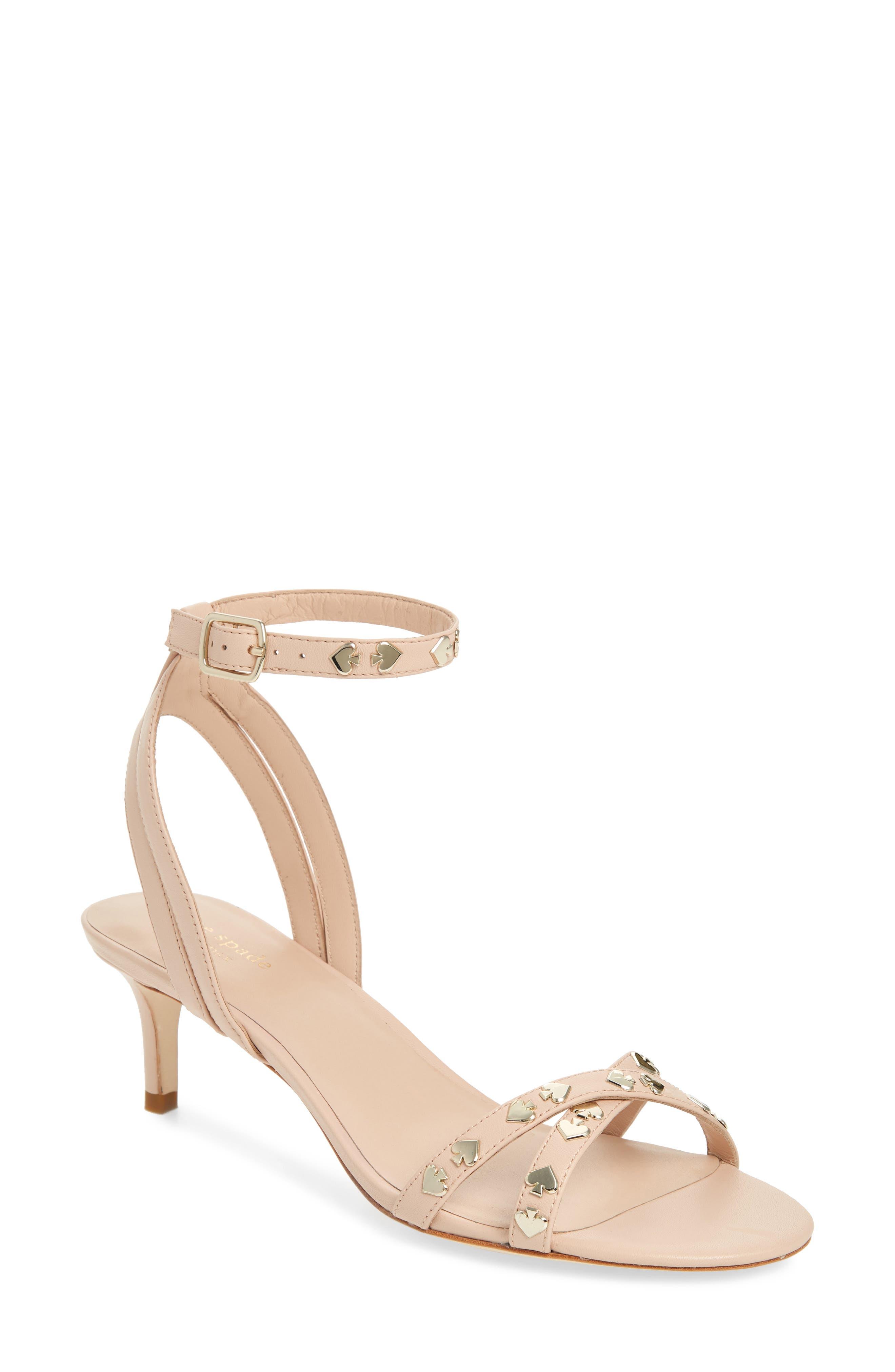 KATE SPADE NEW YORK selma sandal, Main, color, PALE VELUM
