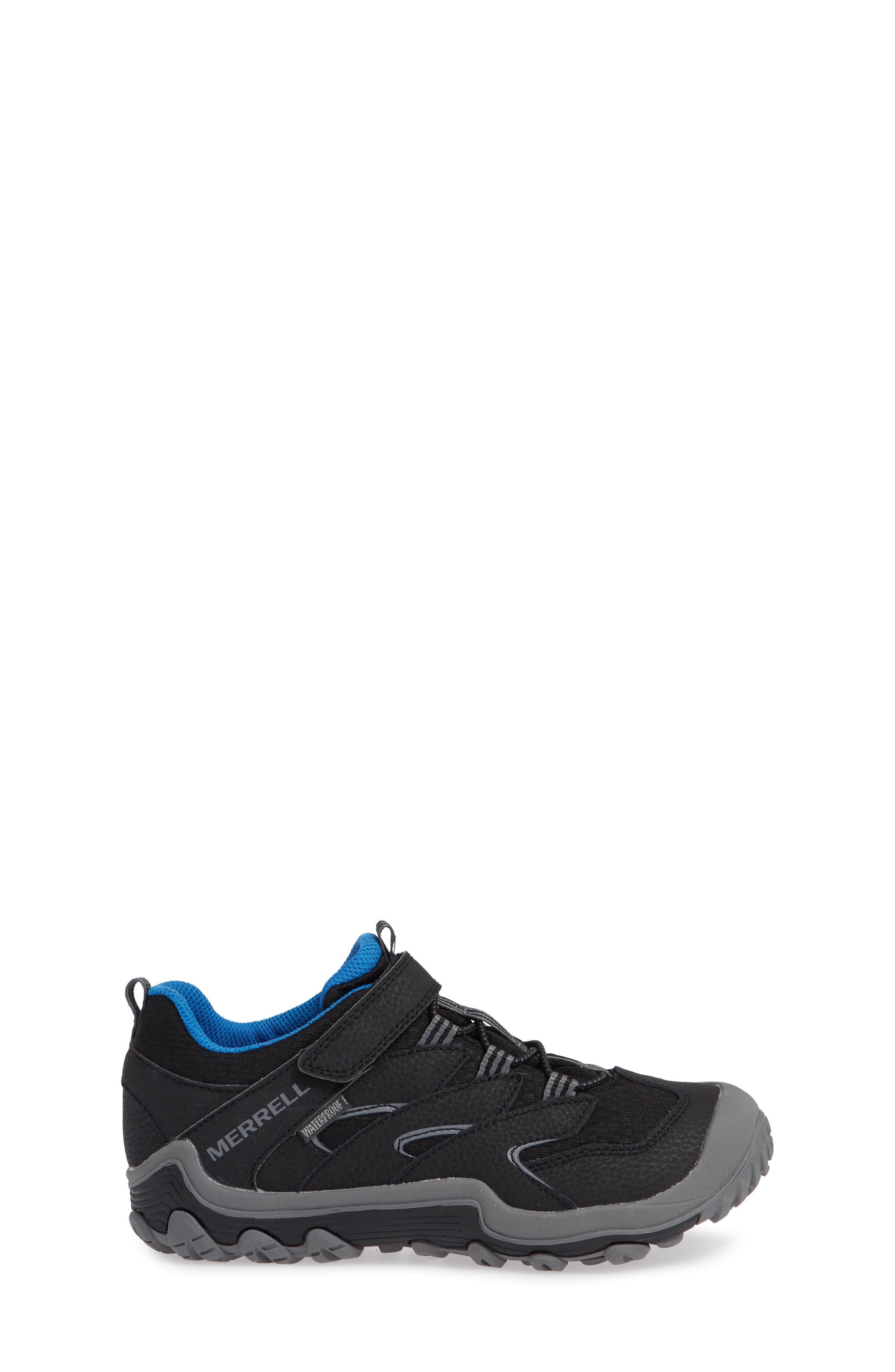Chameleon 7 Waterproof Sneaker,                             Alternate thumbnail 3, color,                             BLACK