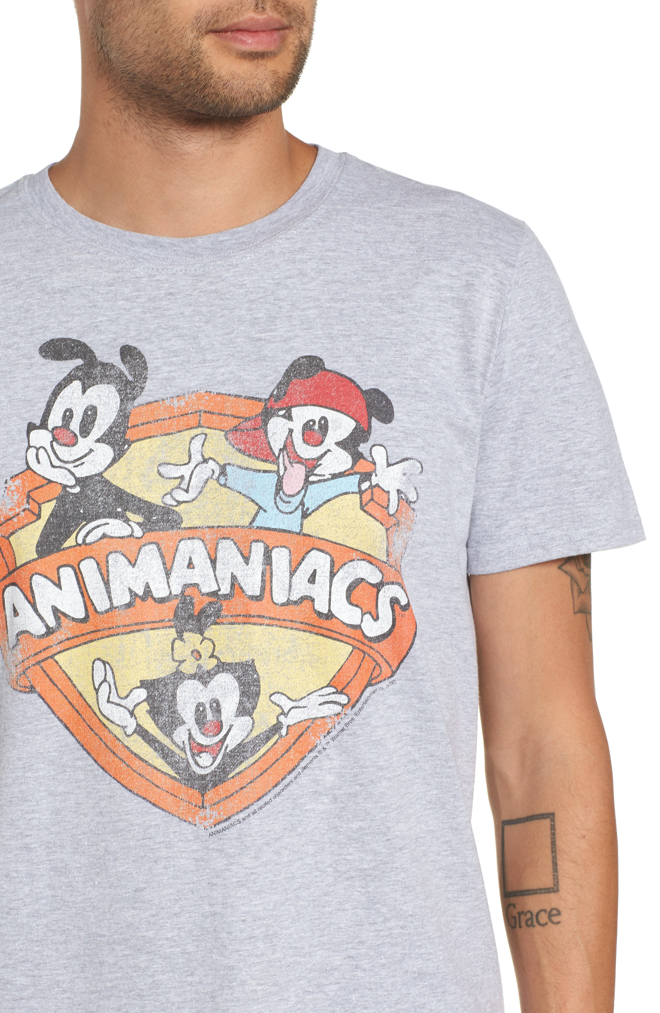 Animaniacs Graphic T-Shirt,                             Alternate thumbnail 4, color,                             050