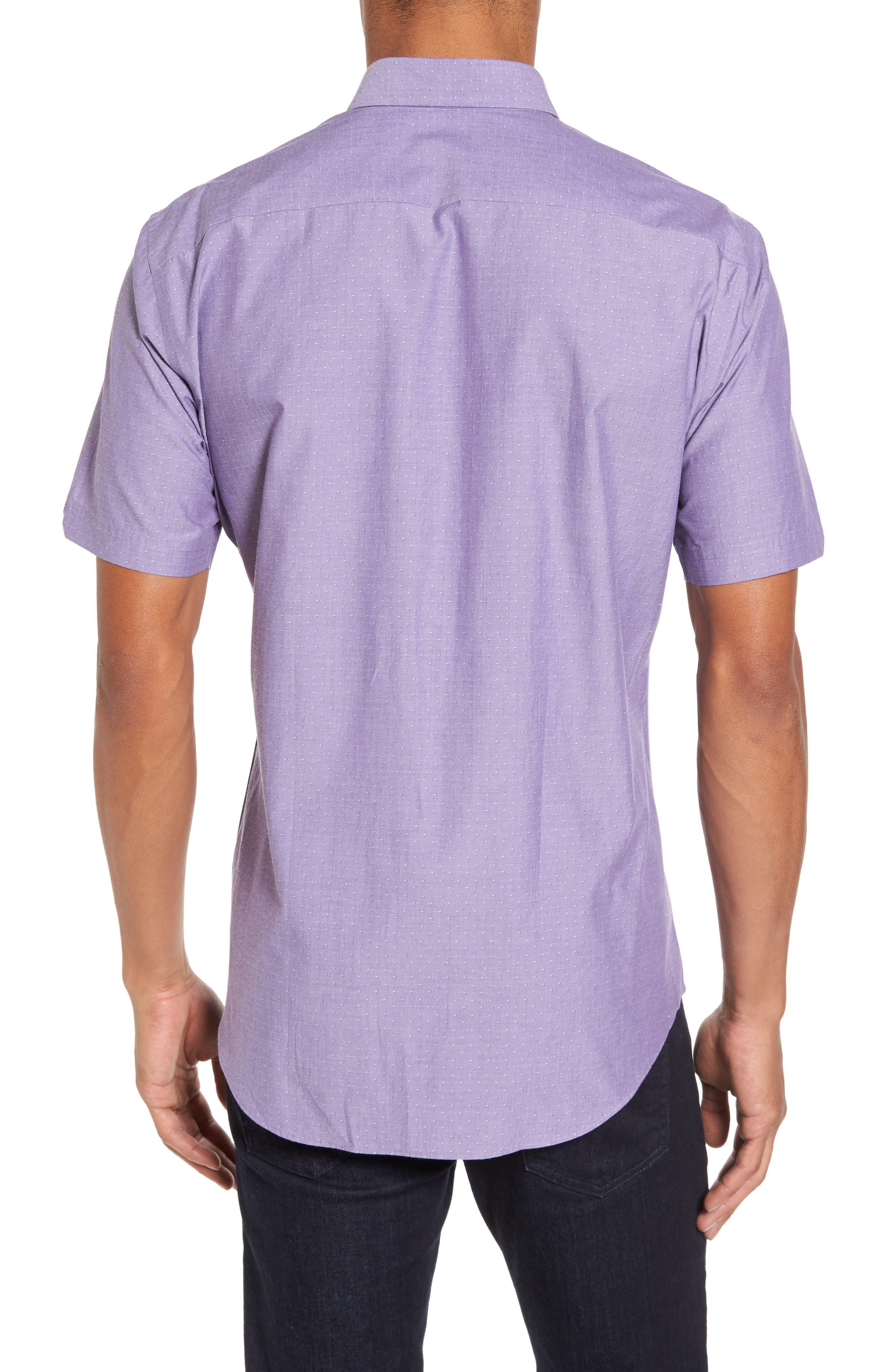 Olson Slim Fit Dobby Sport Shirt,                             Alternate thumbnail 2, color,                             530