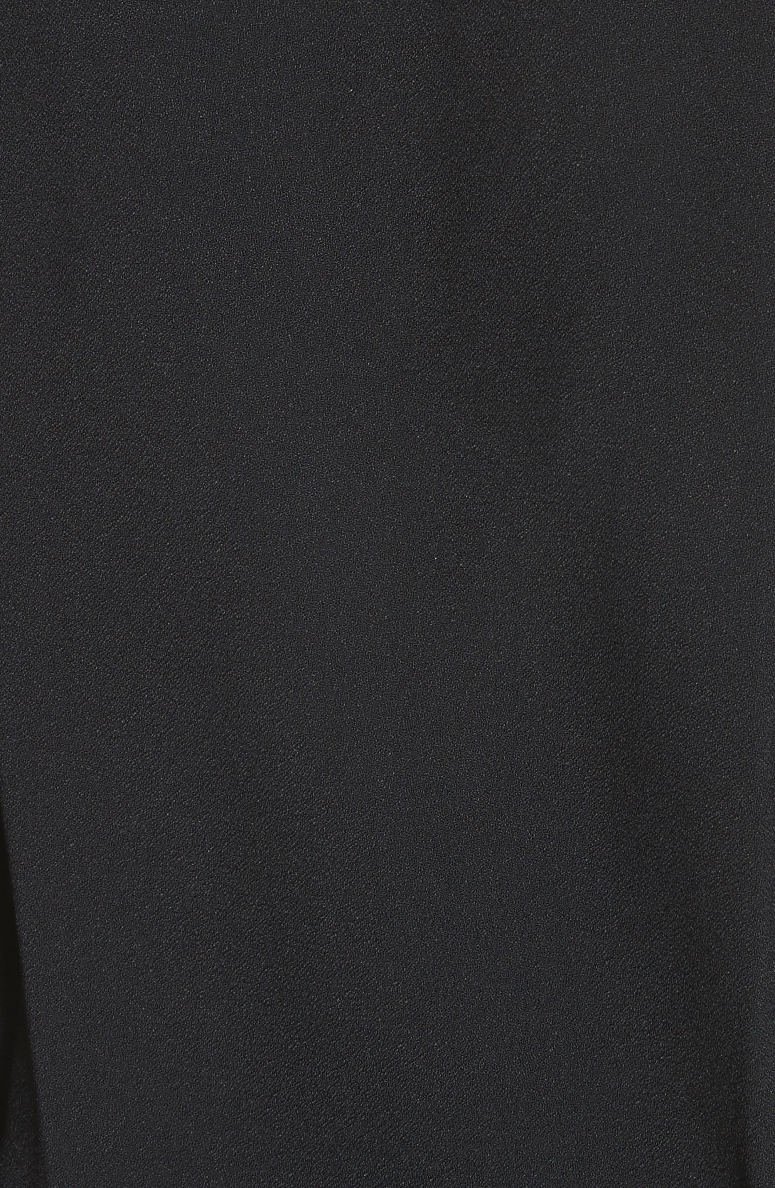 Ruched Blouson Dress,                             Alternate thumbnail 5, color,