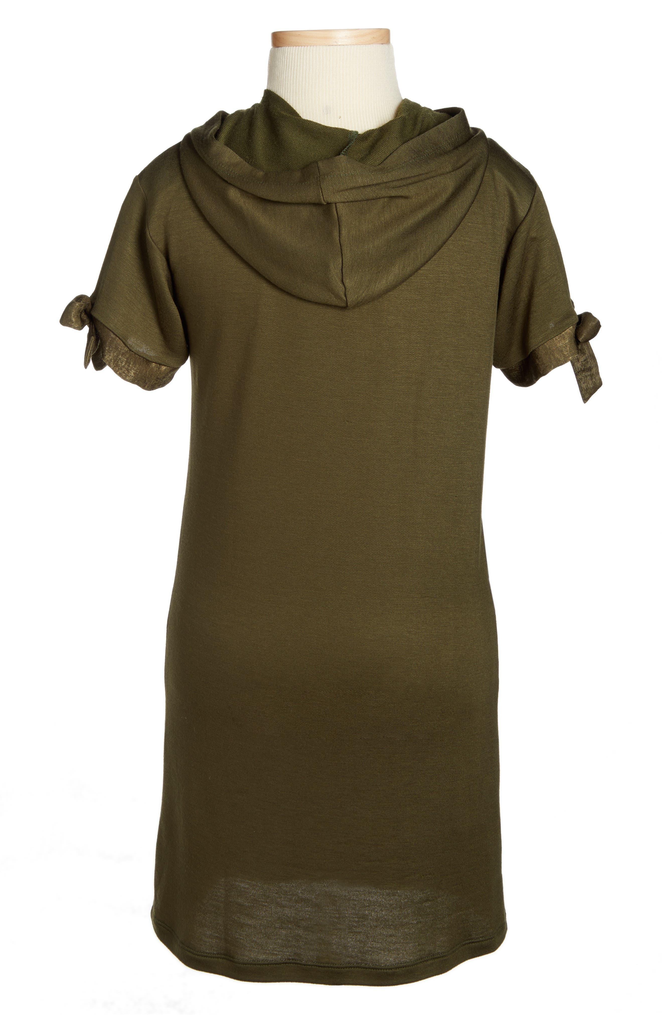 Hooded Shift Dress, Main, color, 302