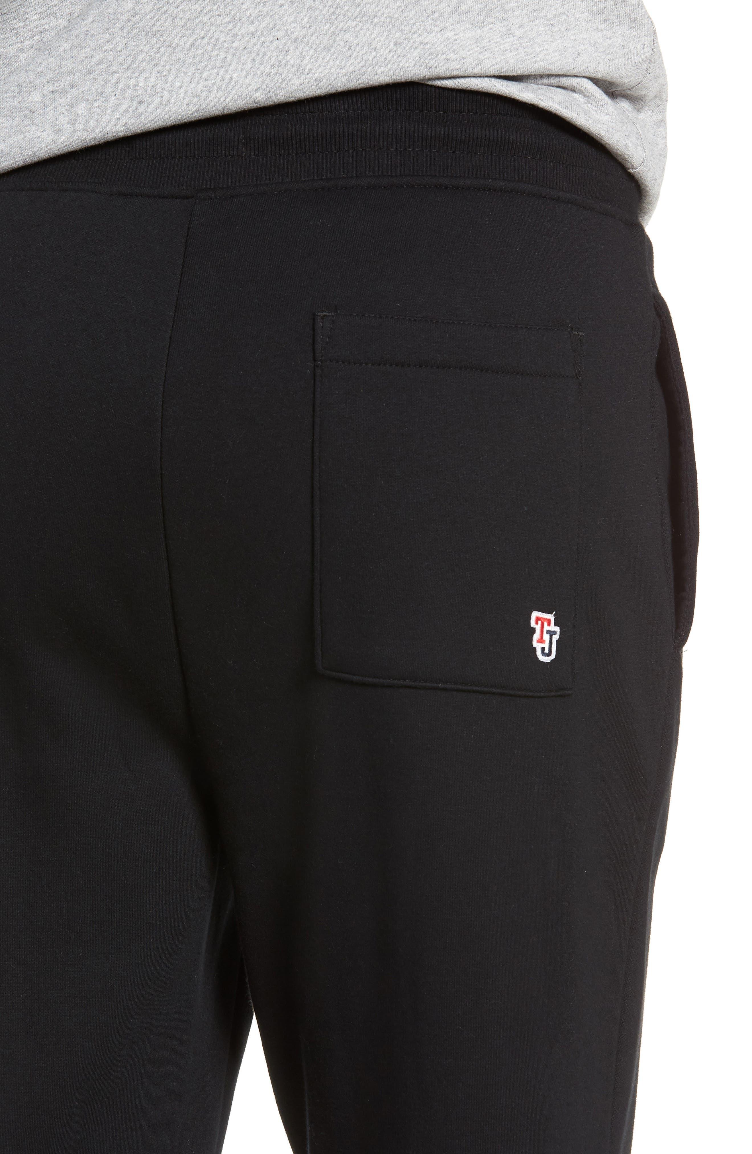 TJM Classics Sweatpants,                             Alternate thumbnail 4, color,                             TOMMY BLACK