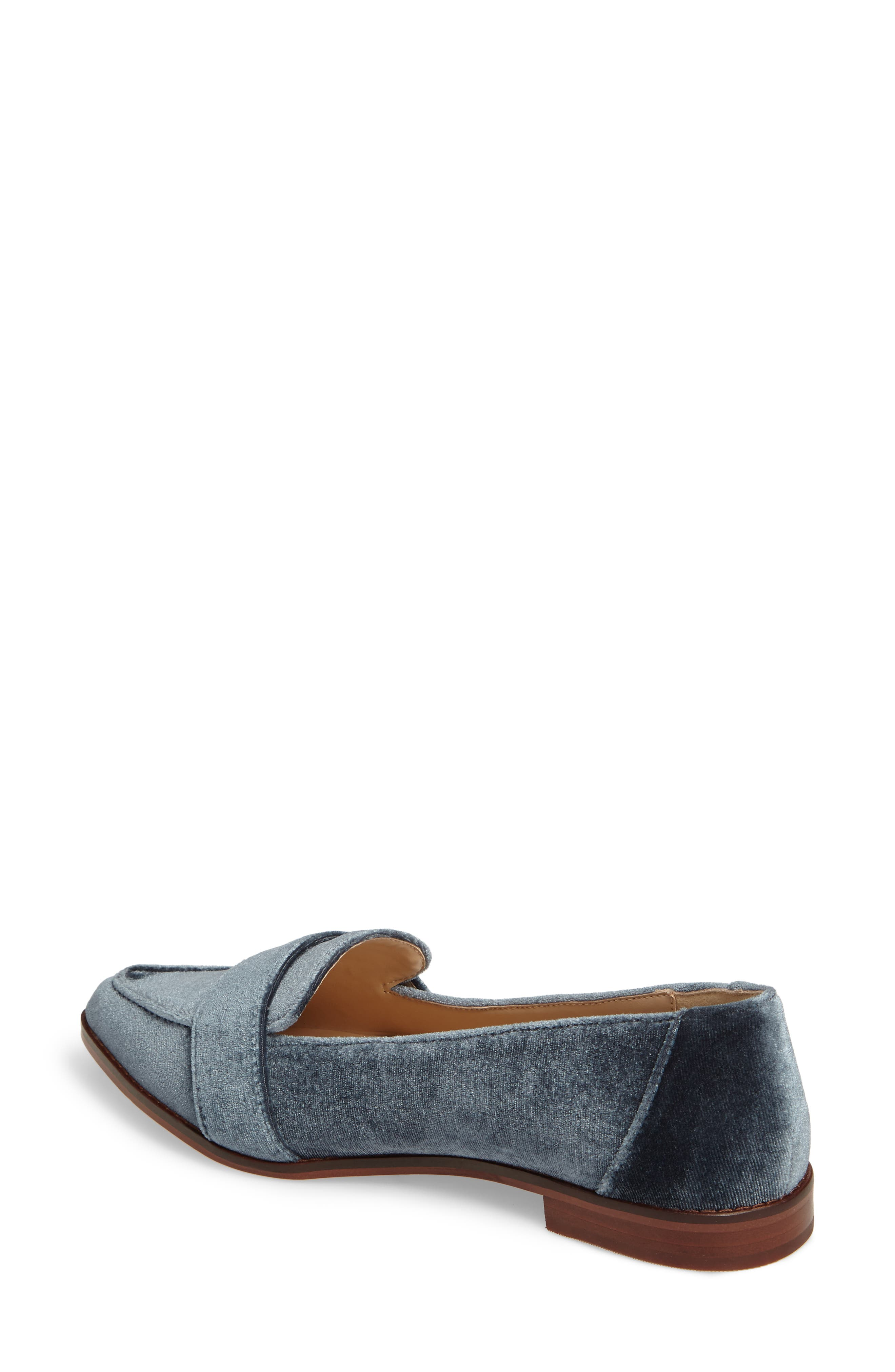 Edie Pointy Toe Loafer,                             Alternate thumbnail 18, color,