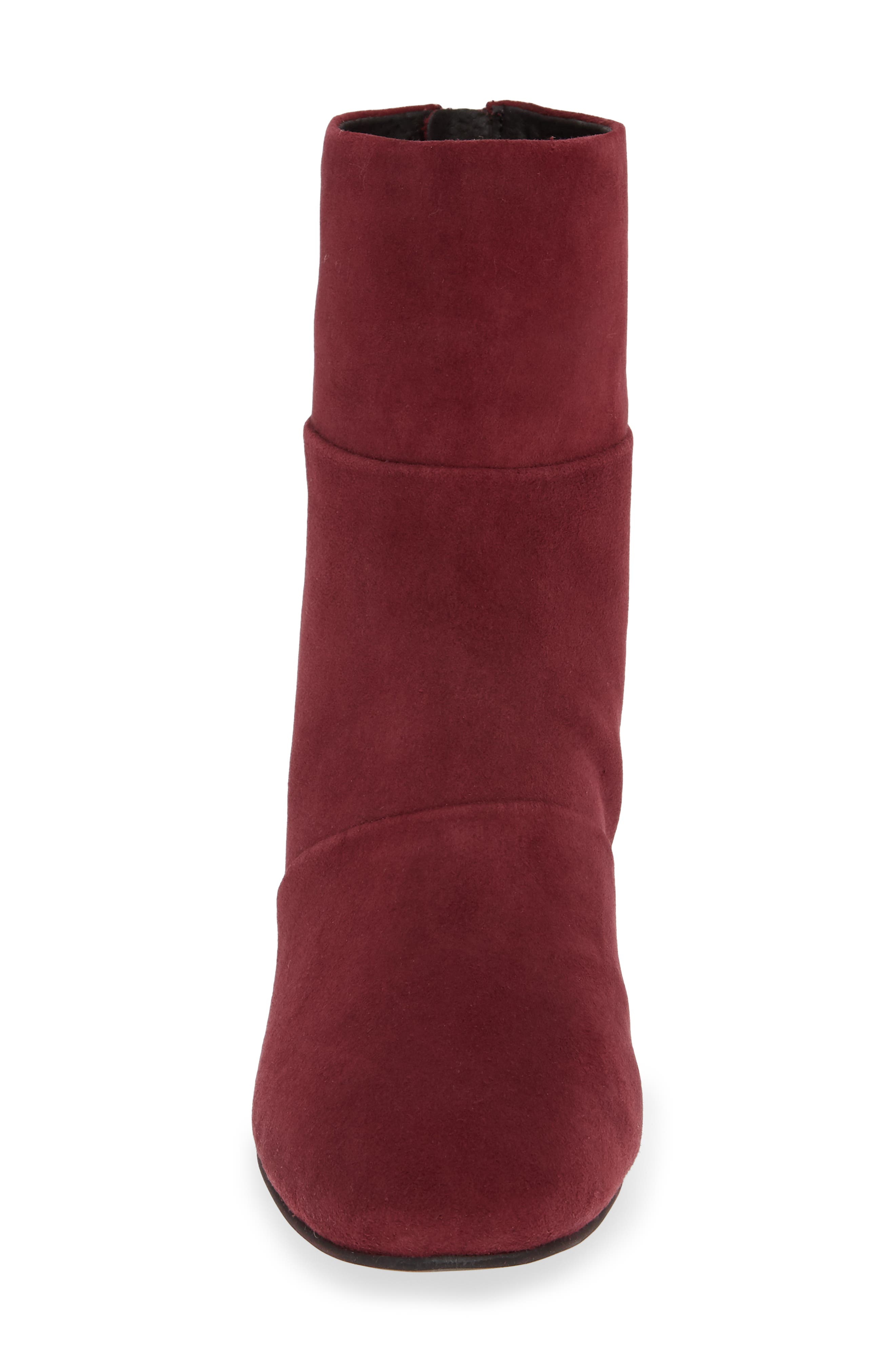 Eryc Bootie,                             Alternate thumbnail 4, color,                             WINE SUEDE
