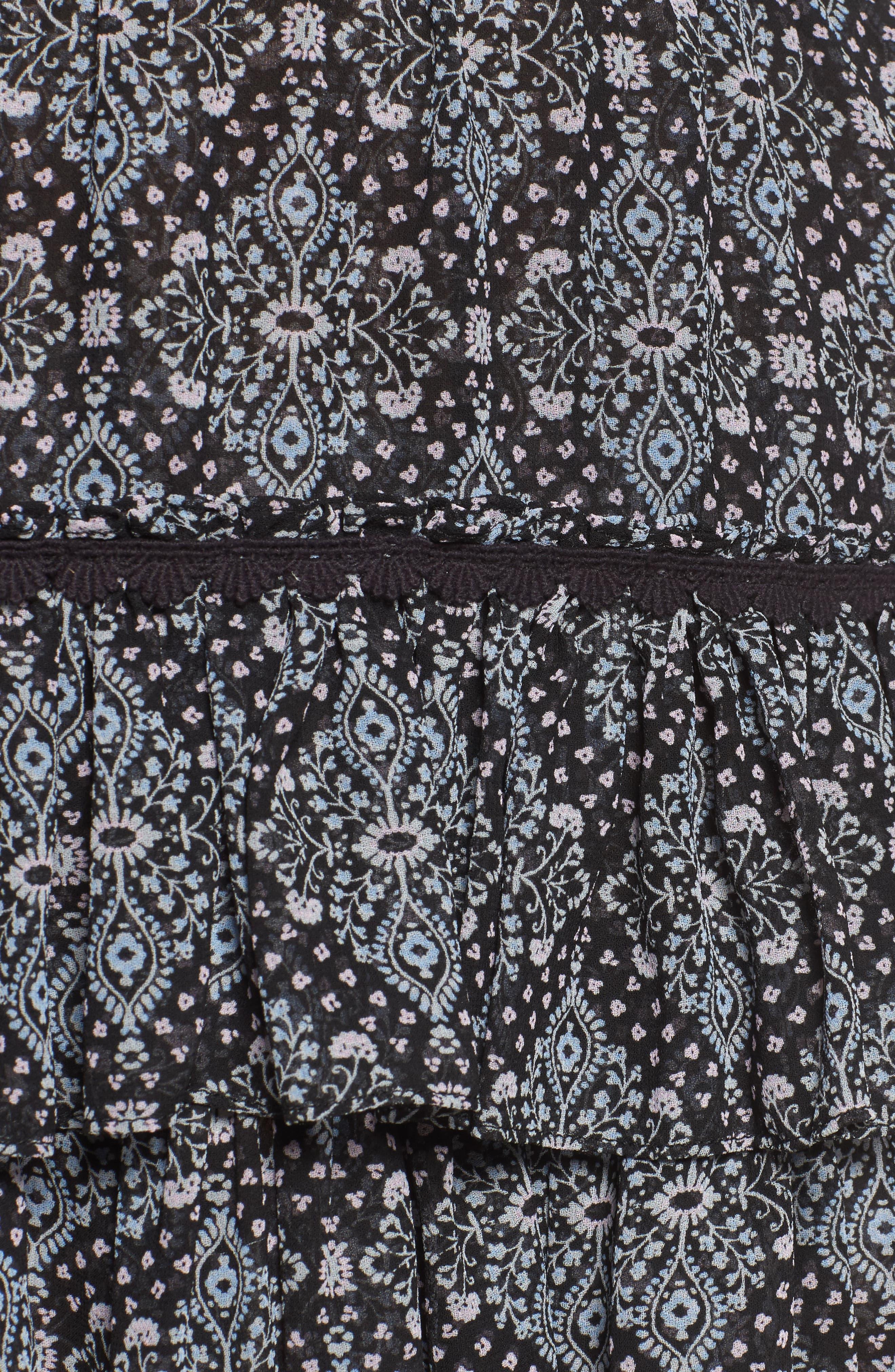 Taleh Ruffle Skirt,                             Alternate thumbnail 5, color,                             001